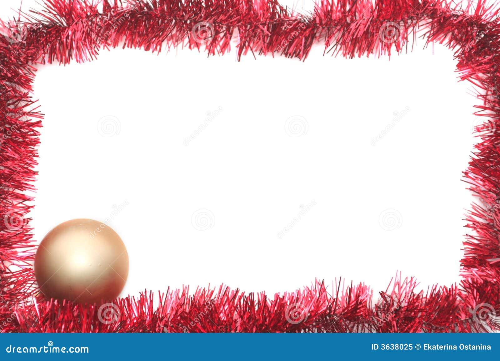 Oropel rojo del Año Nuevo