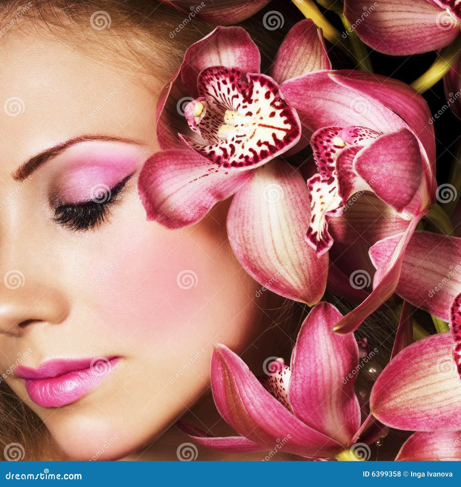 Orquídeas cor-de-rosa