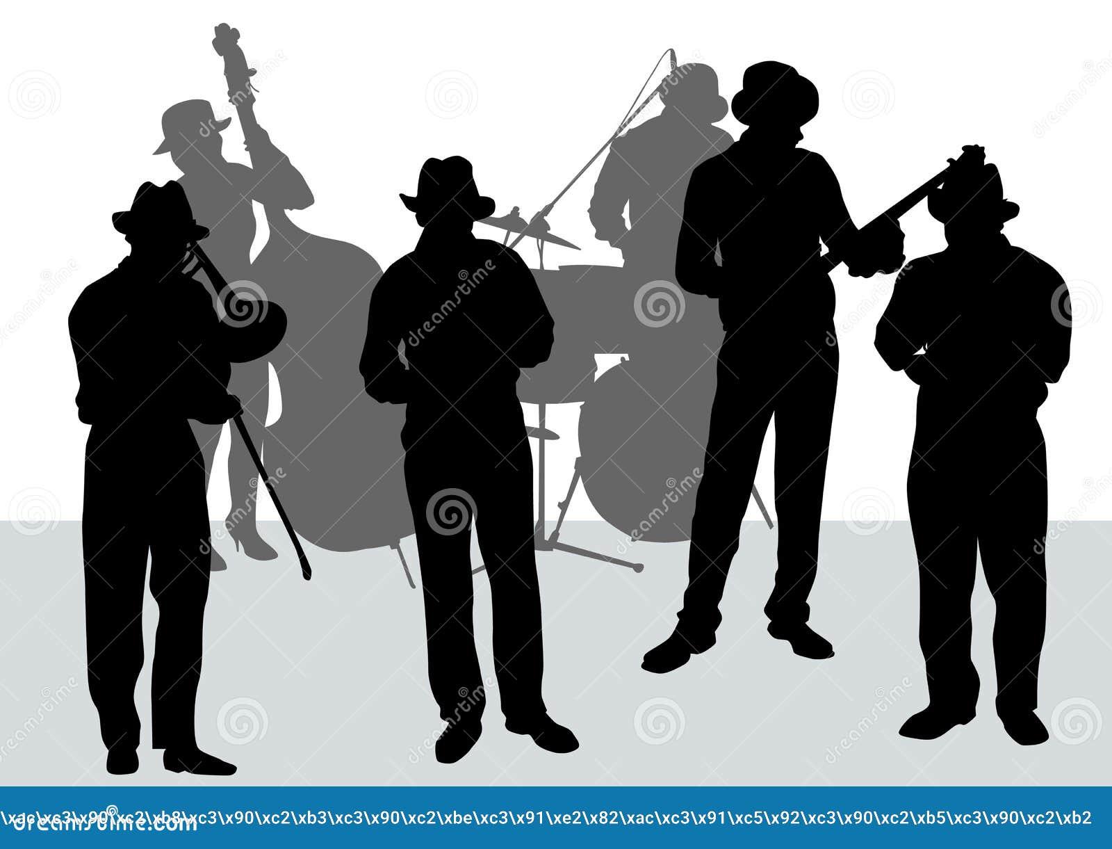 Orquesta del jazz