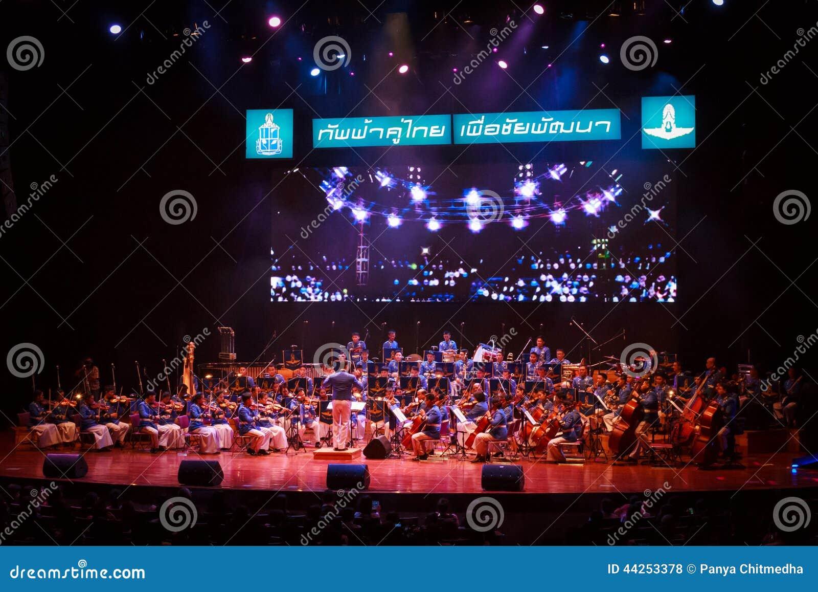 Orquesta sinfónica tailandesa real de la fuerza aérea