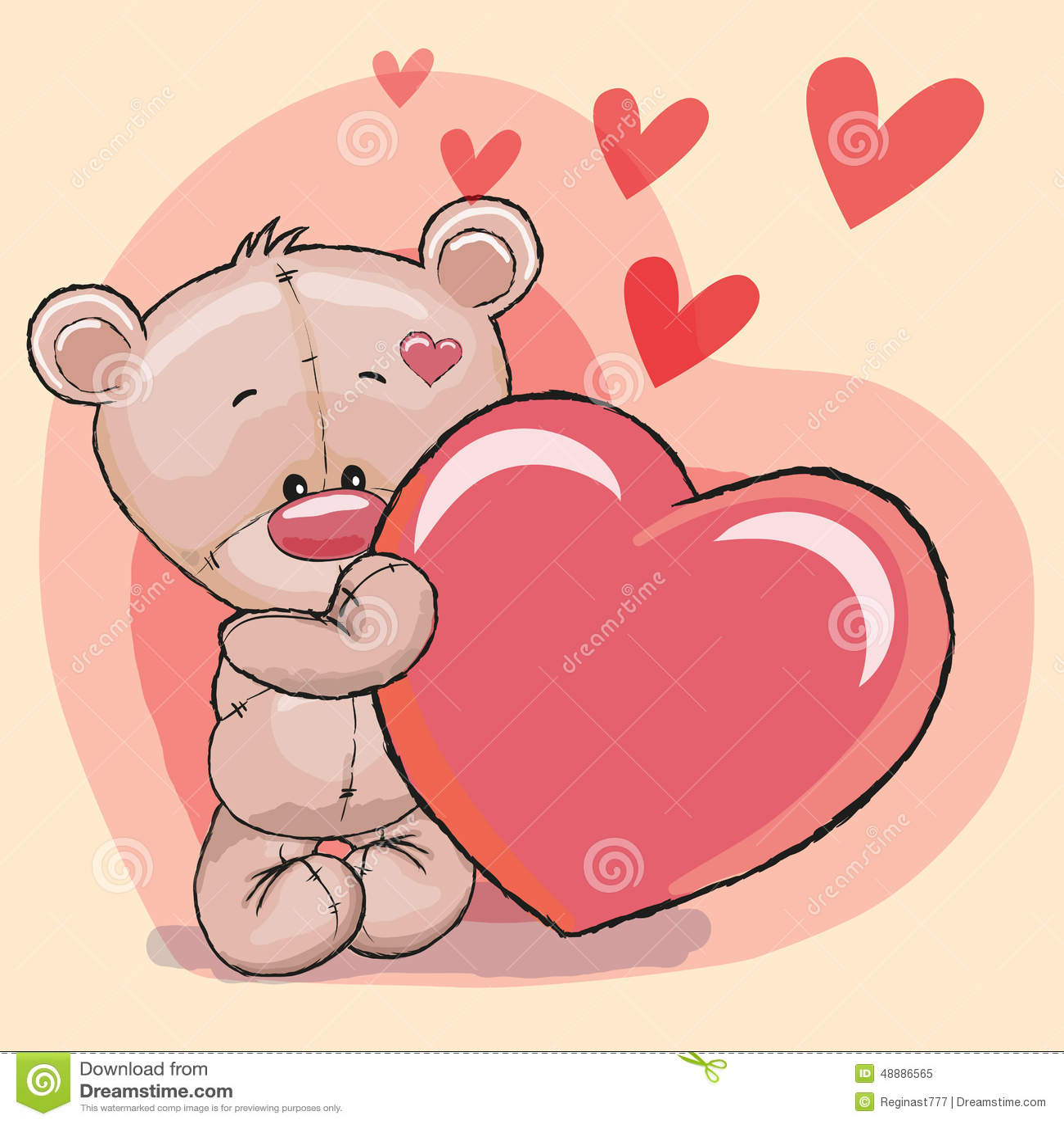 Orso con cuore