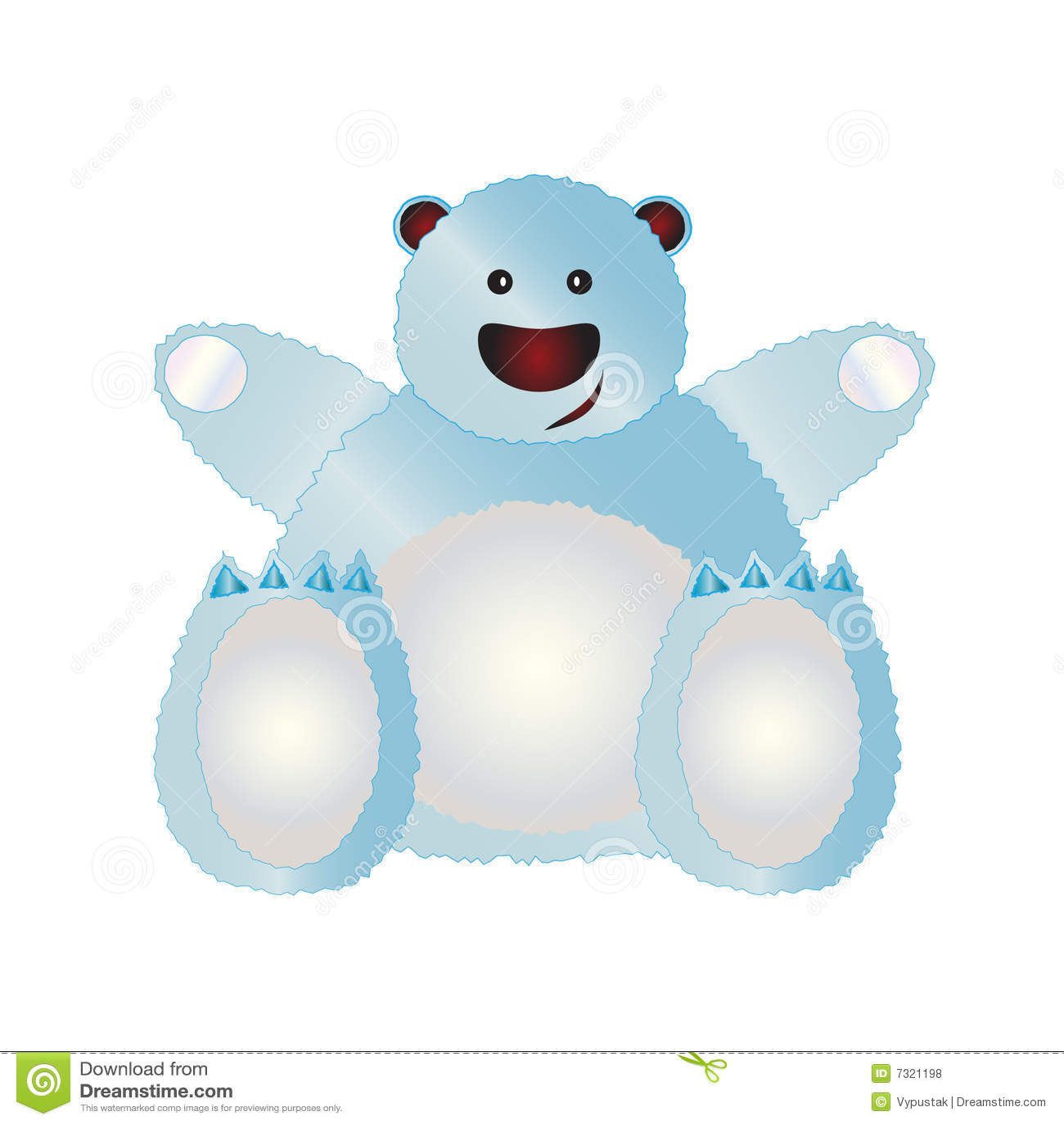 Orso polare illustrato