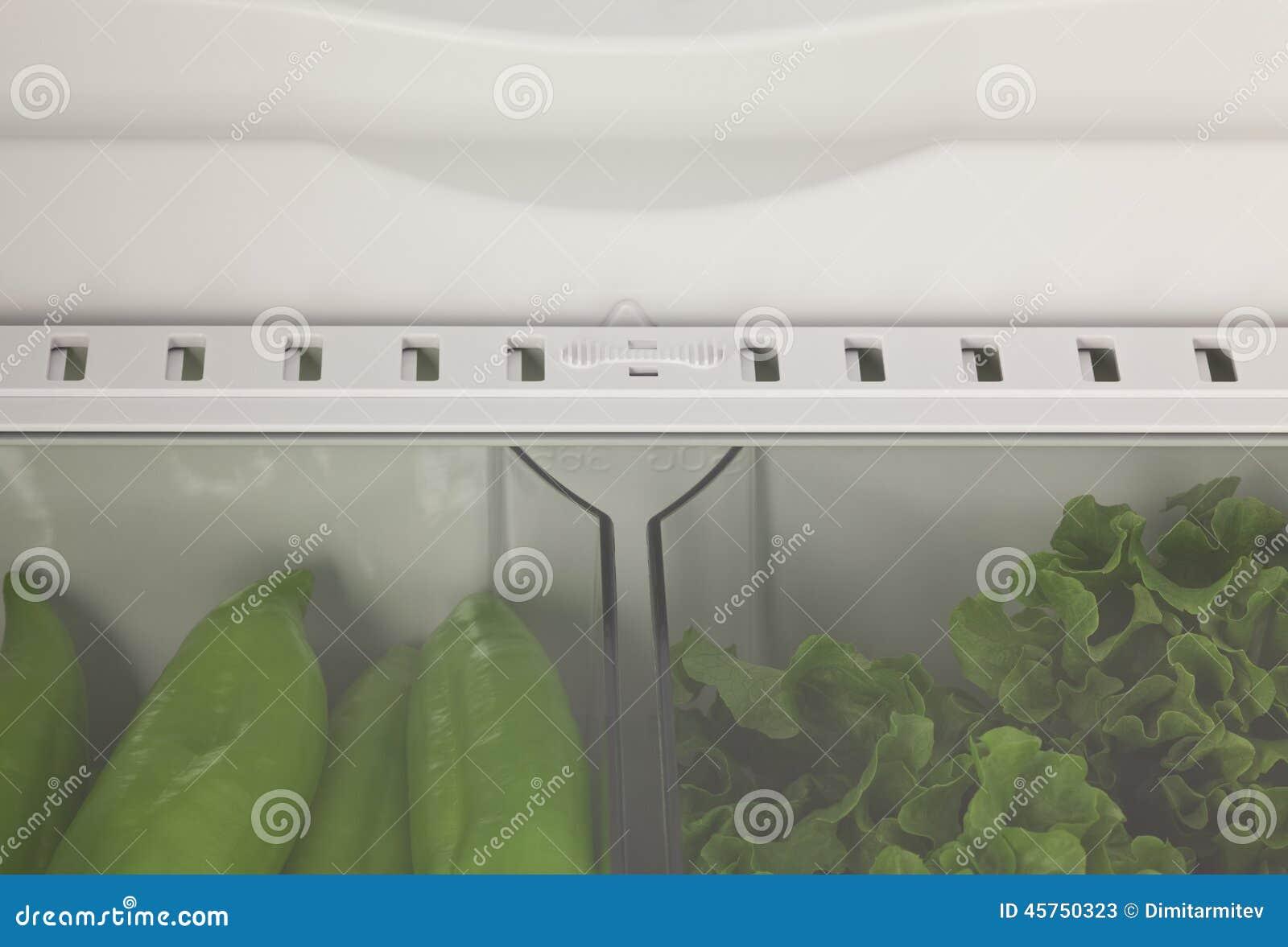Ortaggi freschi nel frigorifero