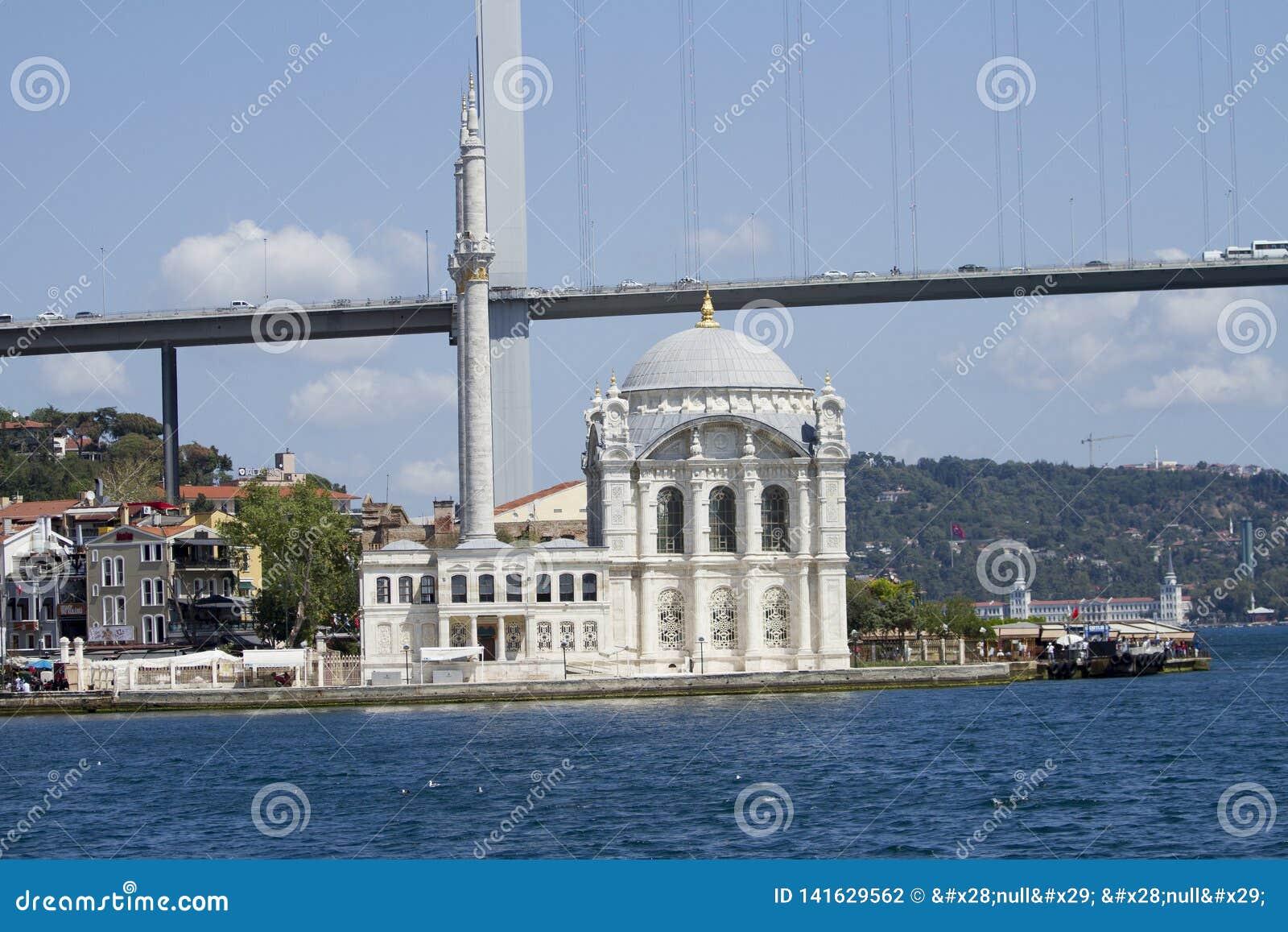 Ortaköy meczet jeden malowniczy położenia wszystko Istanbuł meczety