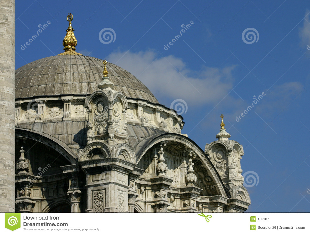 Mosque Detail: Ortakoy Mosque Detail Royalty Free Stock Photography