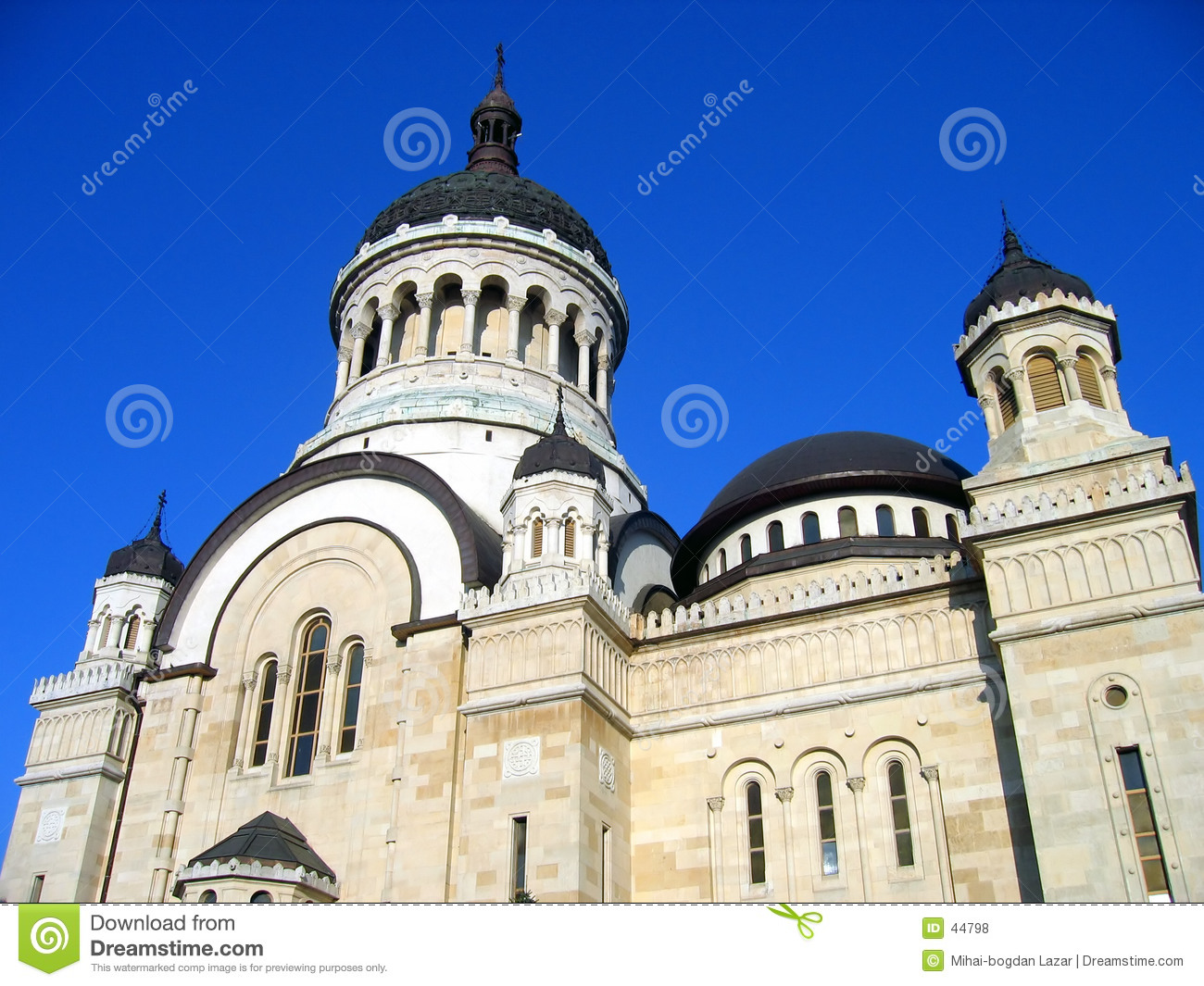 Orthodox cathedral in cluj napoca romania royalty free - Romanian architectural styles ...