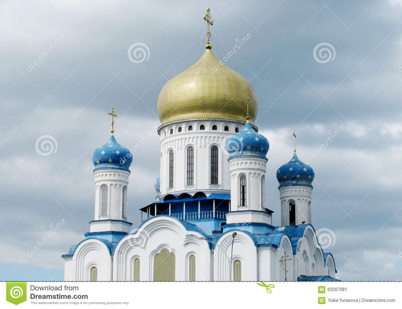 Orthodox Cathedral of the Holy Cross in Uzhorod