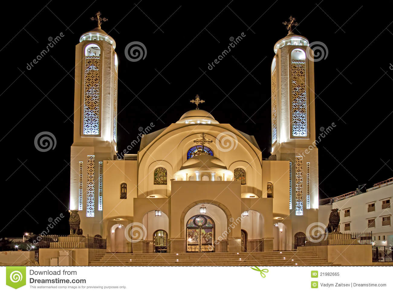 St. Mark's Coptic Cathedral - Alexandria, Egypt