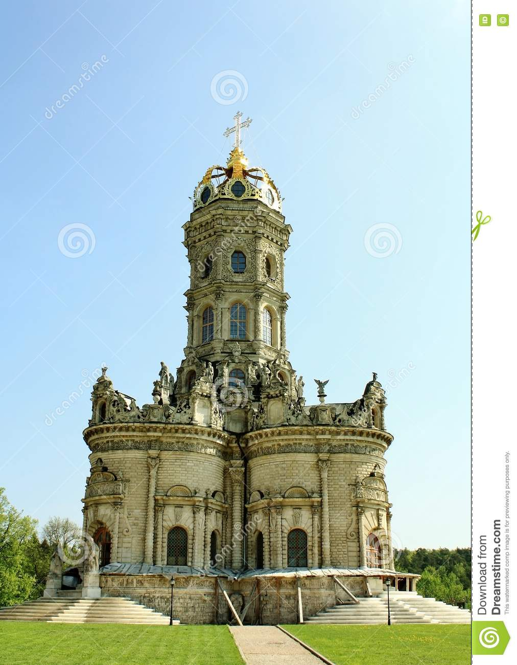 Orthodox church in baroque style stock photo image 24758410 for Baroque style church