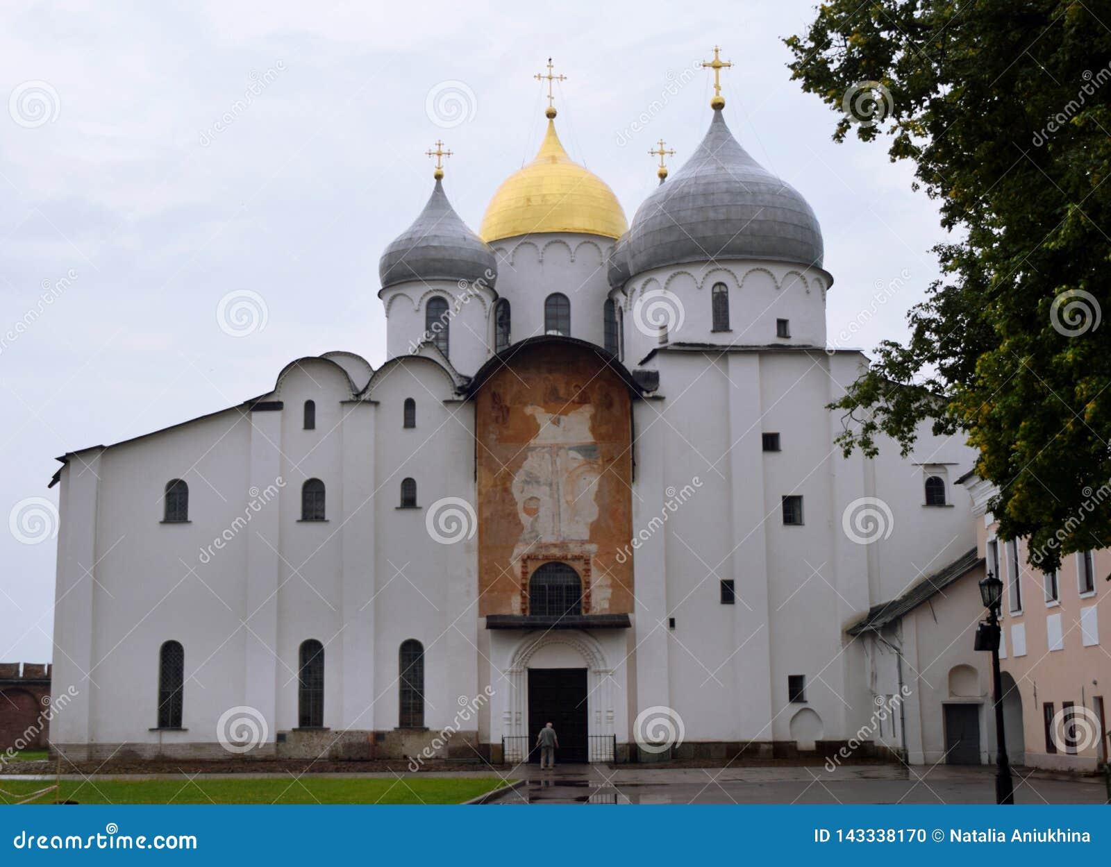Orthodox Church of St. Sophia in the Novgorod Kremlin in Veliky Novgorod