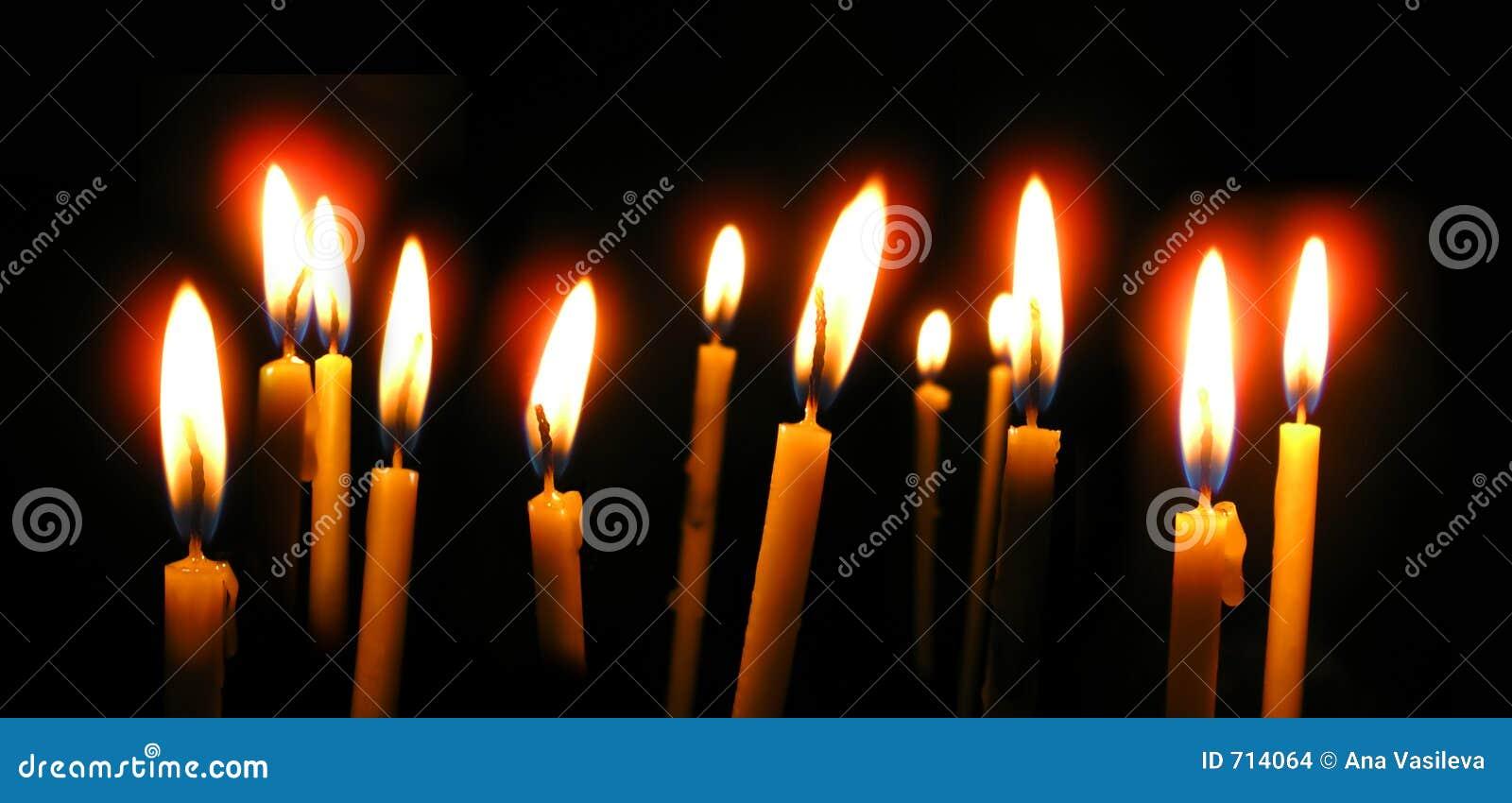 Orthodox Church Wax Candles