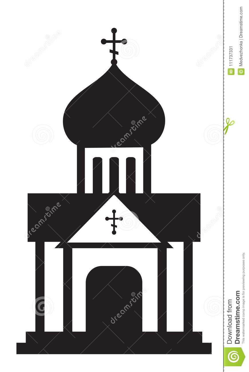 orthodox domes christian church temple stock vector rh dreamstime com clipart orthodox icons orthodox clipart free
