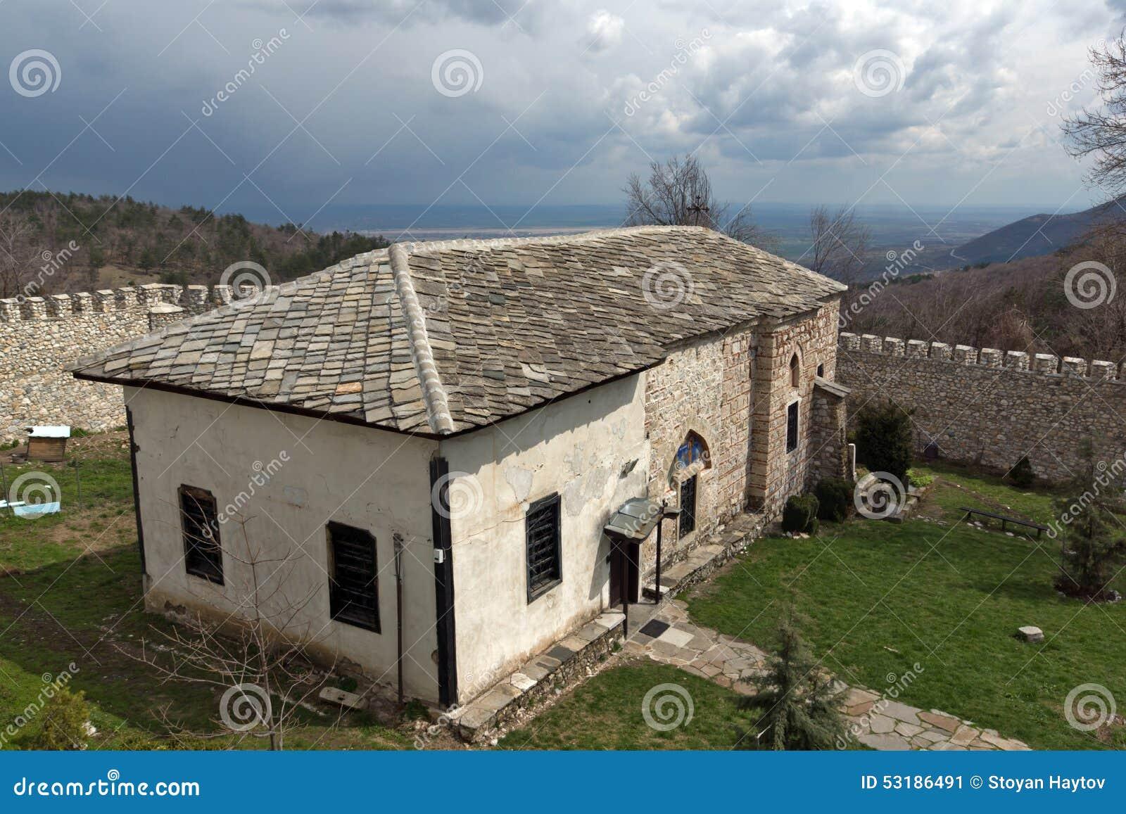 Orthodox Middeleeuws Kuklen-Klooster St Kosma en St Damyan