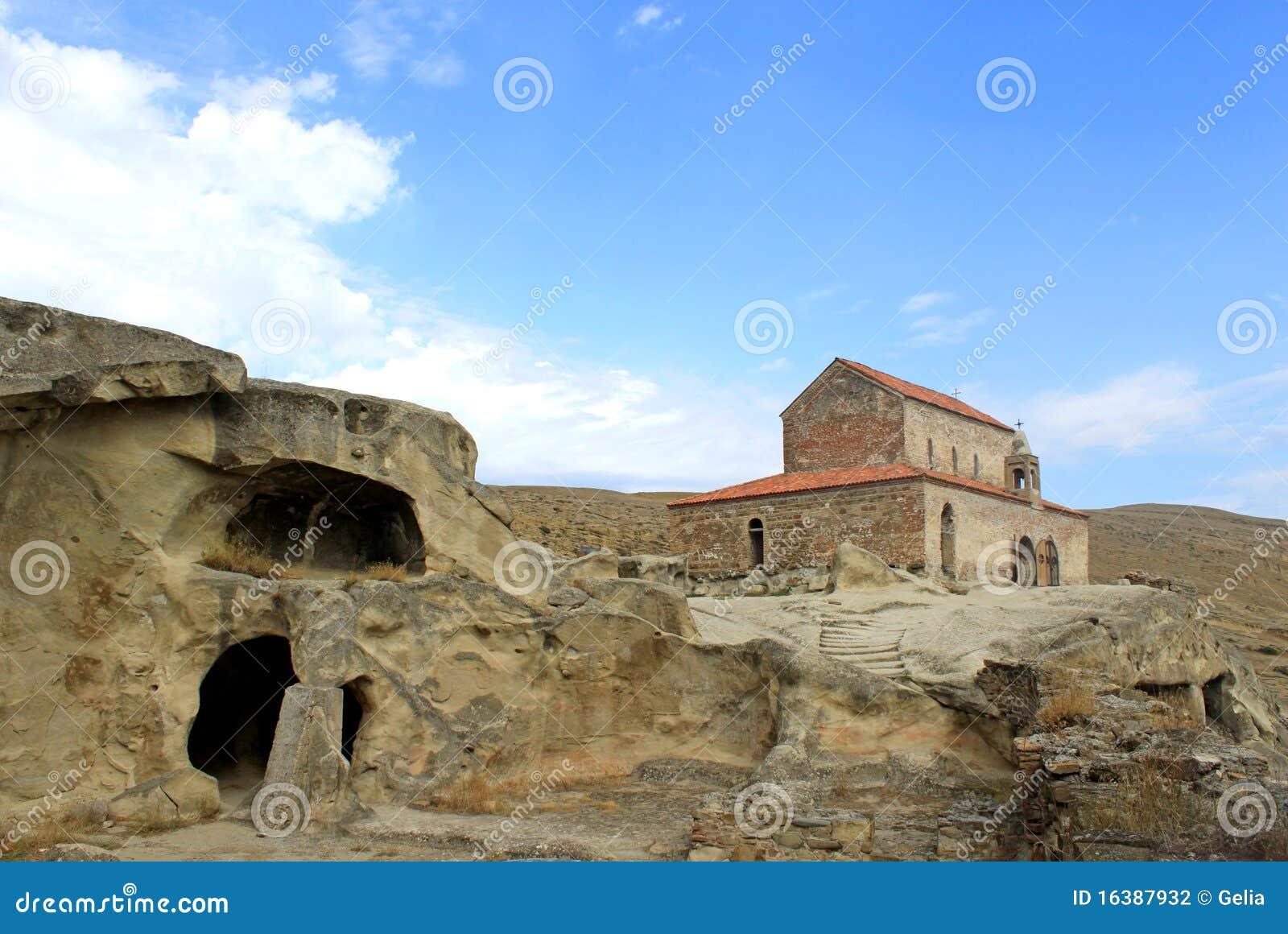 Orthodoxe kerk in Uplistsikhe