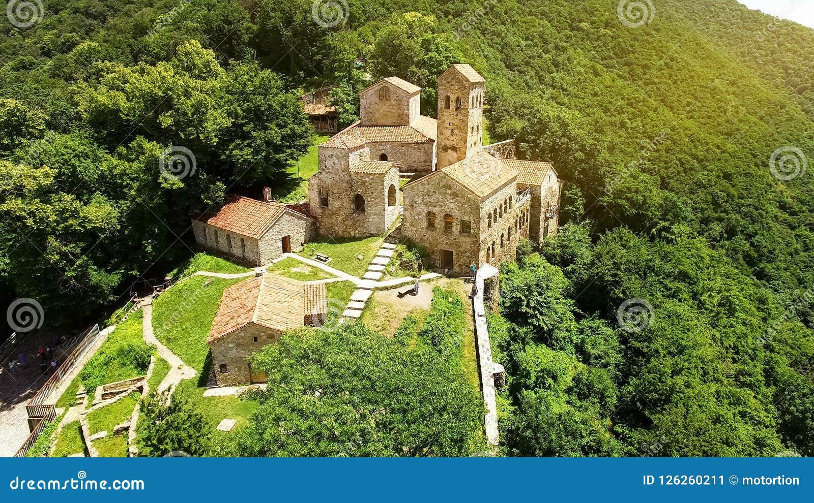Orthodoxes Kloster Nekresi in Alazani-Tal, Tourismus in Georgia, Architektur