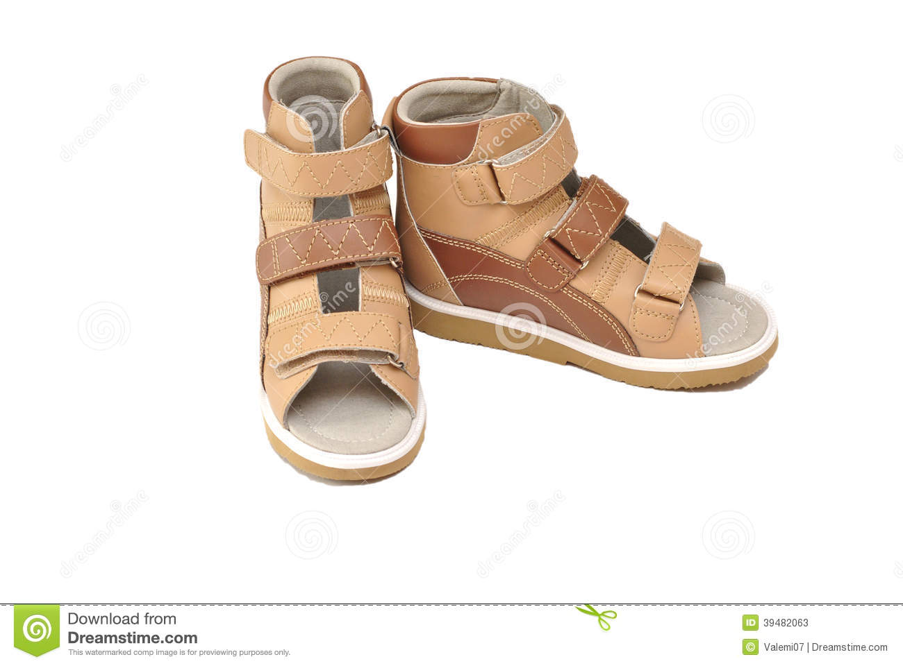 Children s orthopedic sandals for figure correction and feet