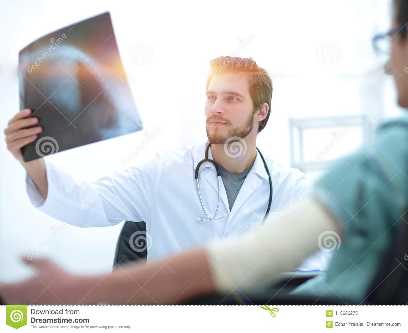 What does the orthopedist cure