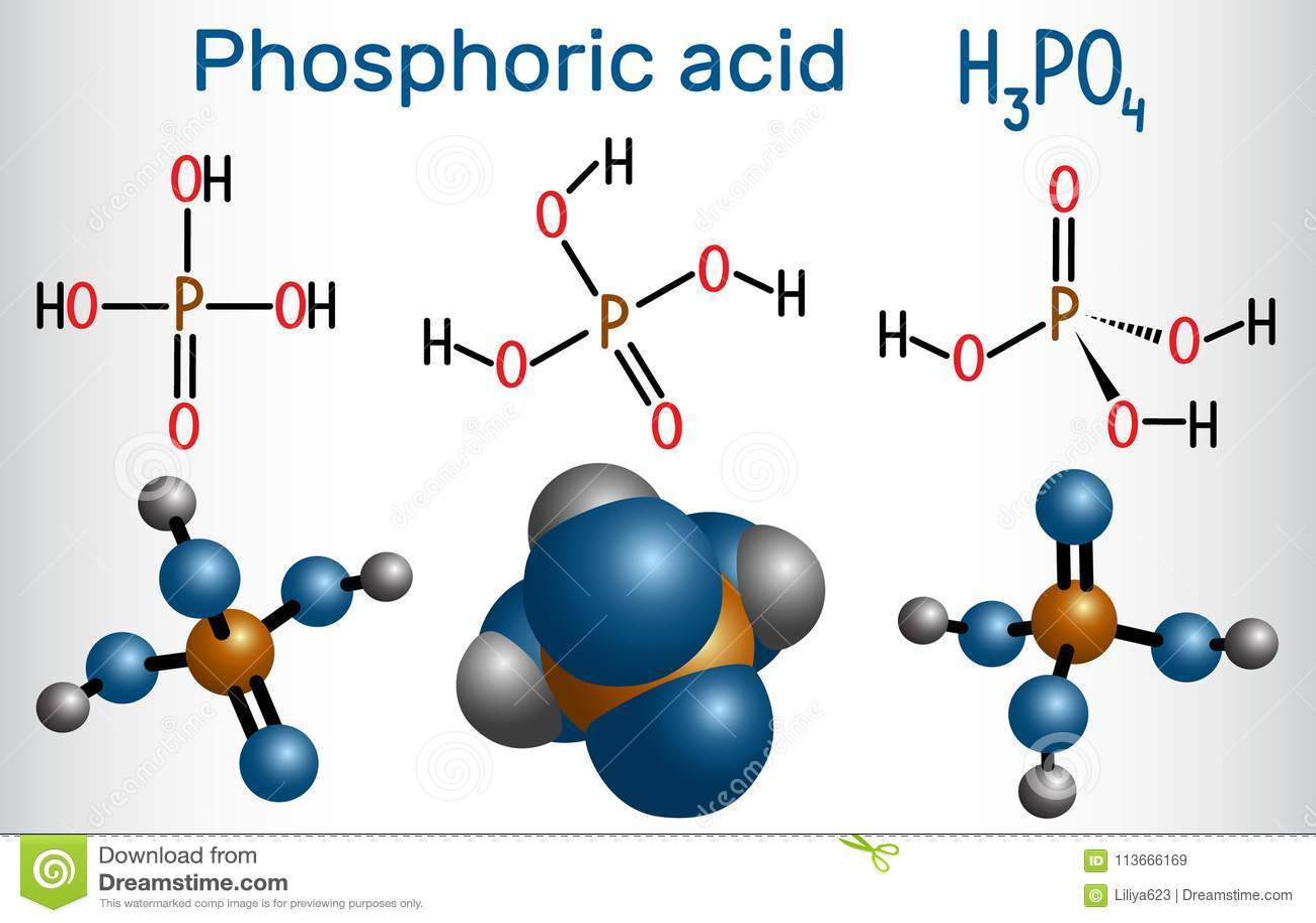 Phosphorsäure formel