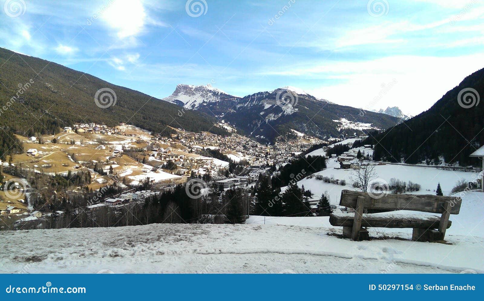 Ortiseidorp in Italië