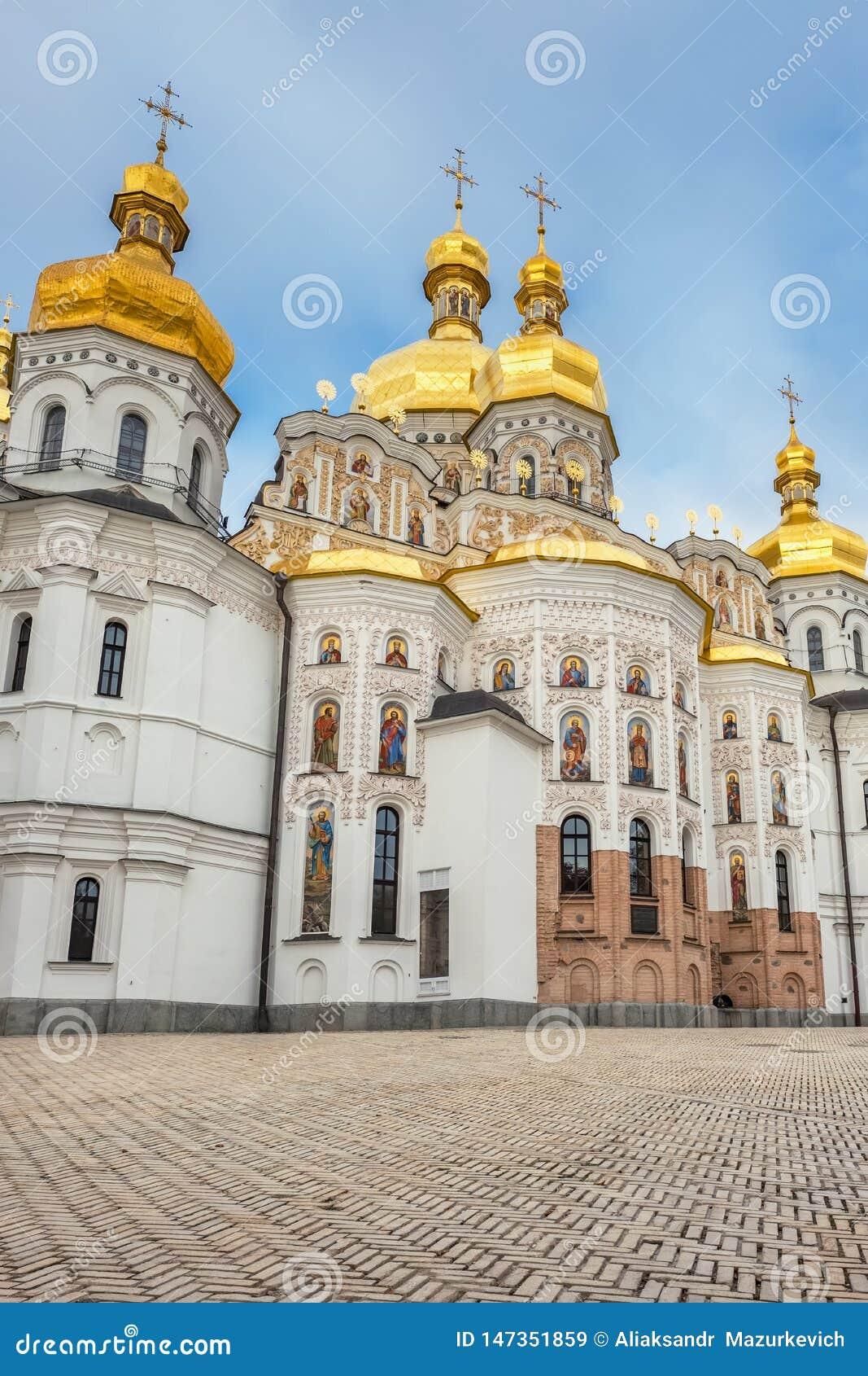 Ortodox kristen kyrka i Kiev Pechersk Lavra Monastery, Kyiv