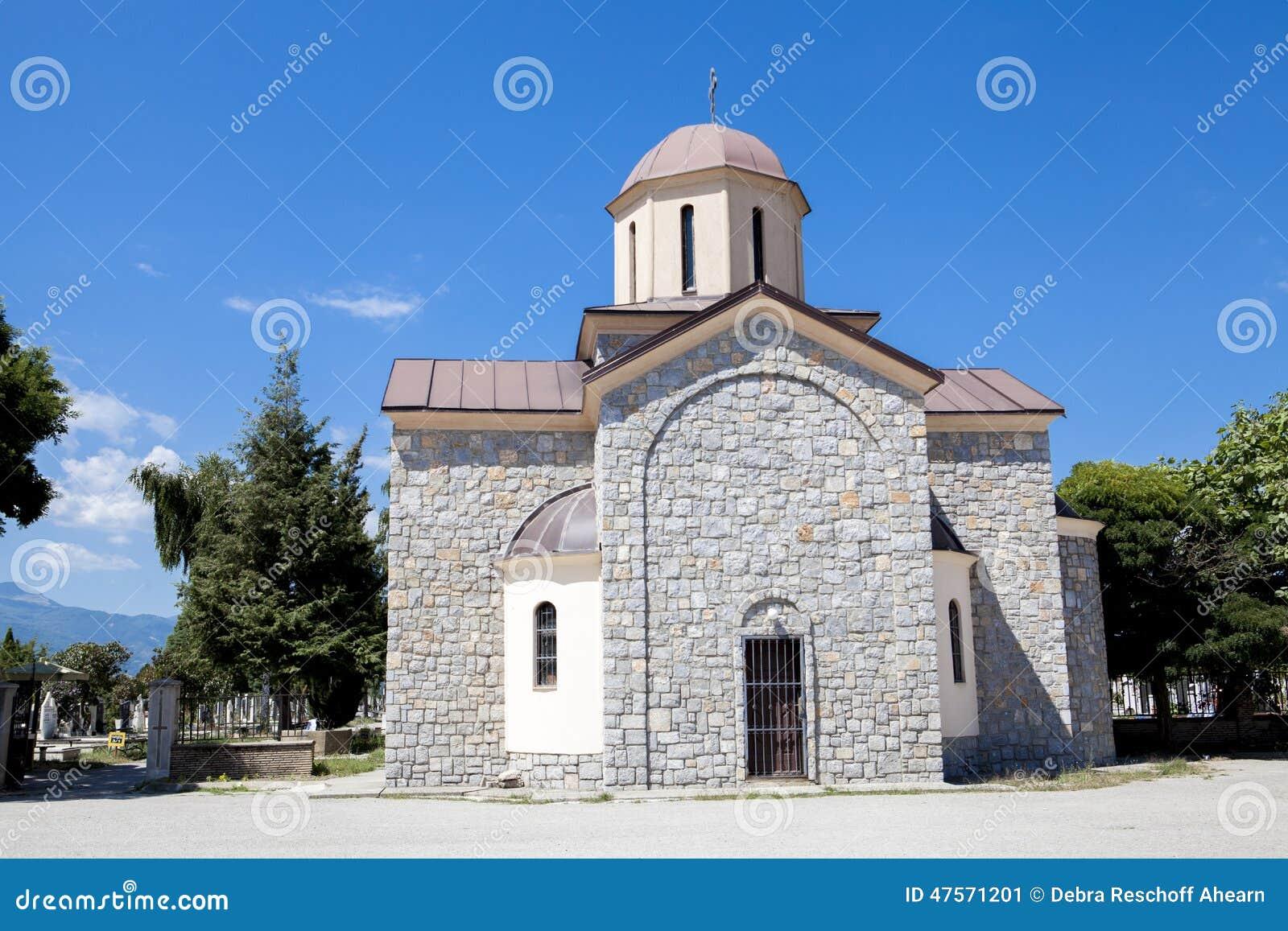 Ortodox kyrka Makedonien