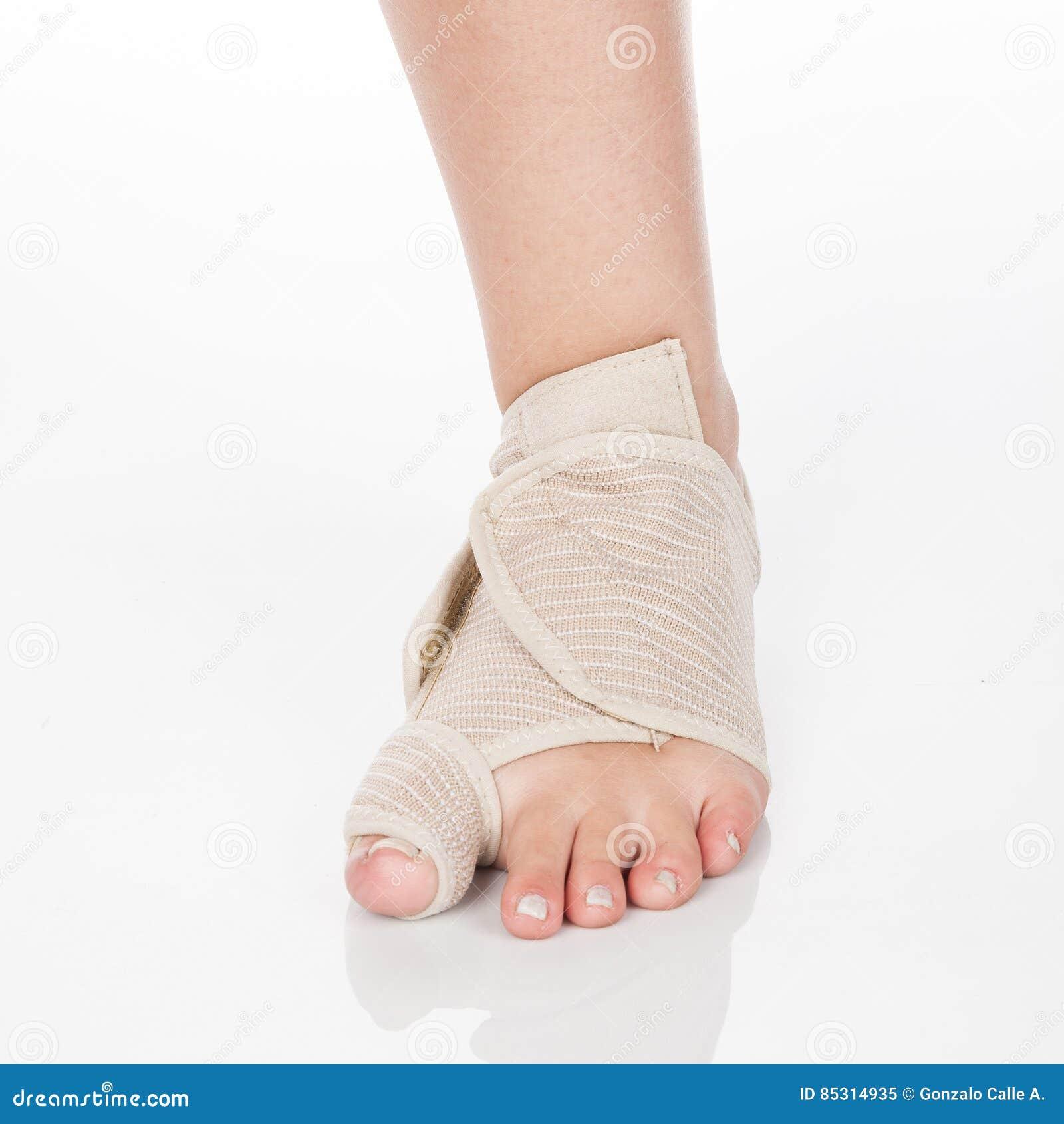 Ortopedyczny poparcie dla kostki