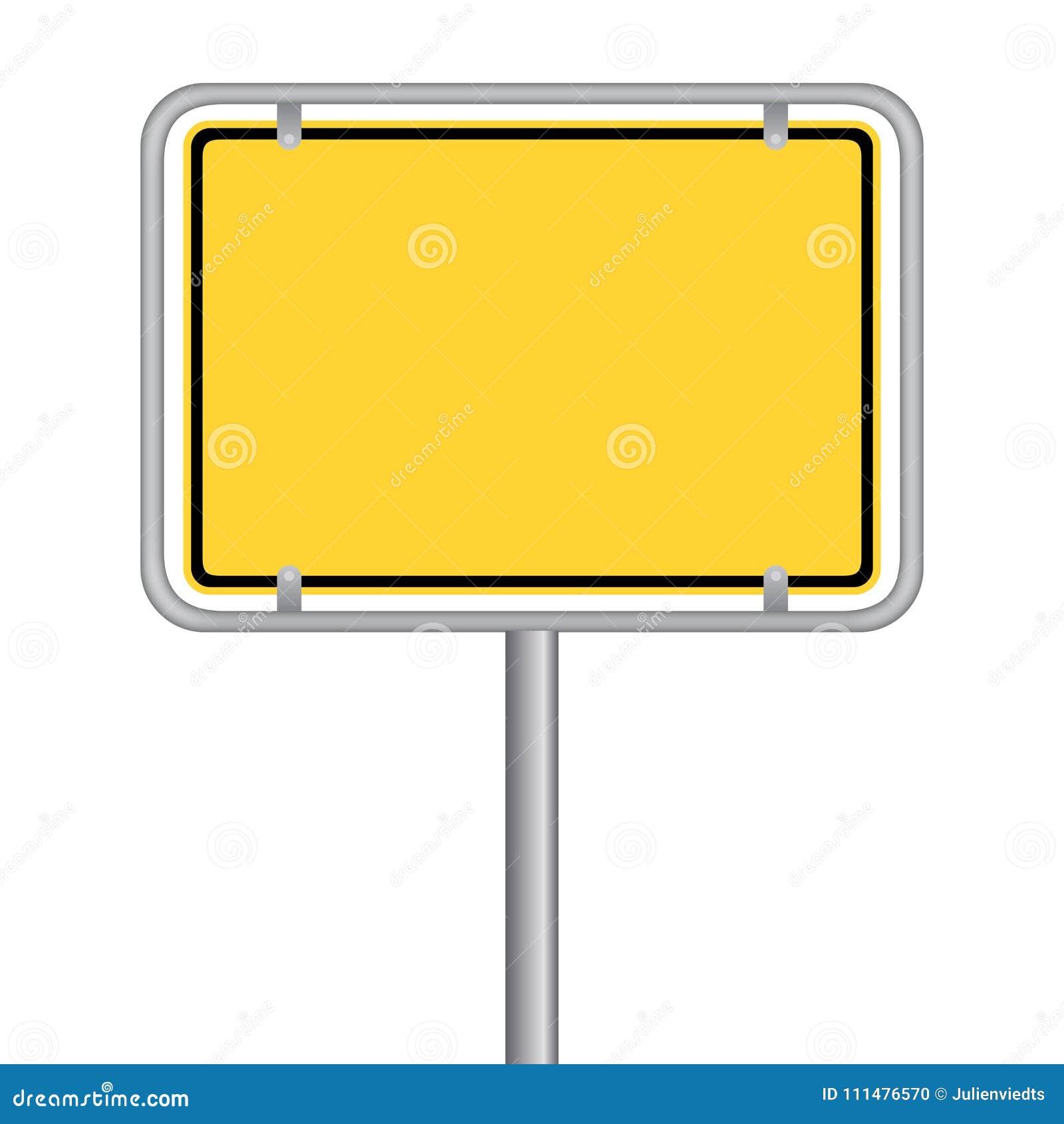 Ortschild
