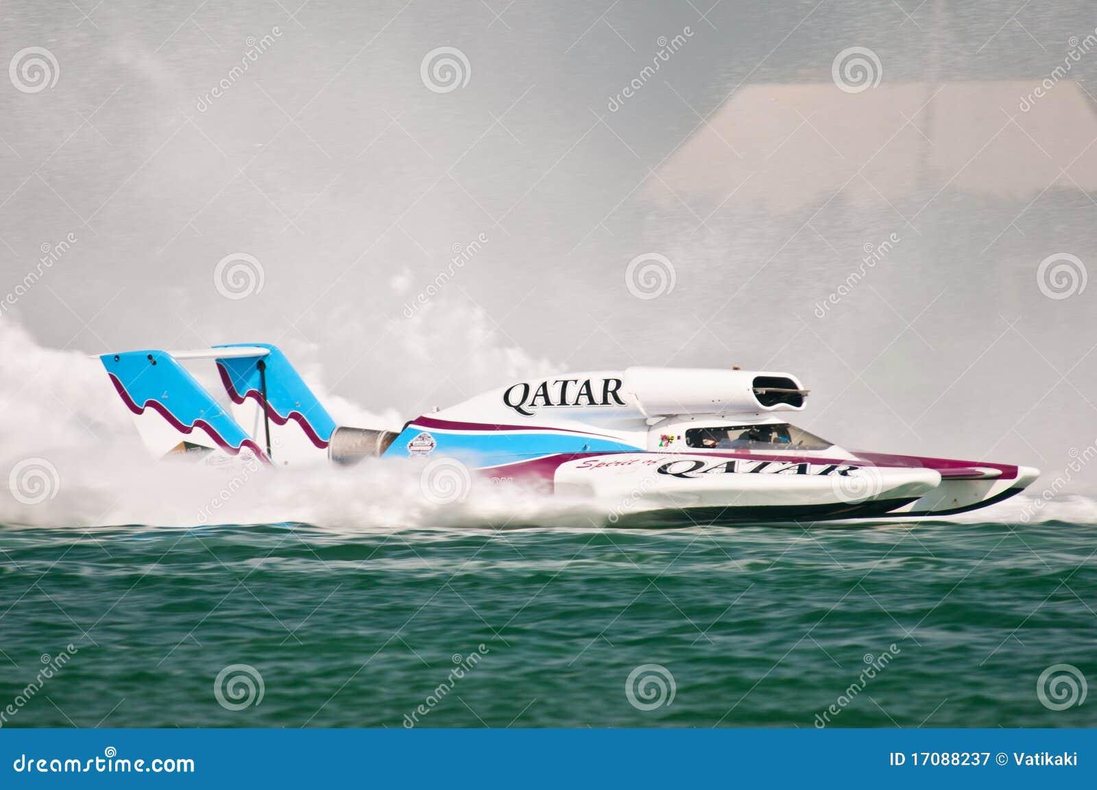 Oryx чашки h1 чемпионата шлюпки участвуя в гонке мир