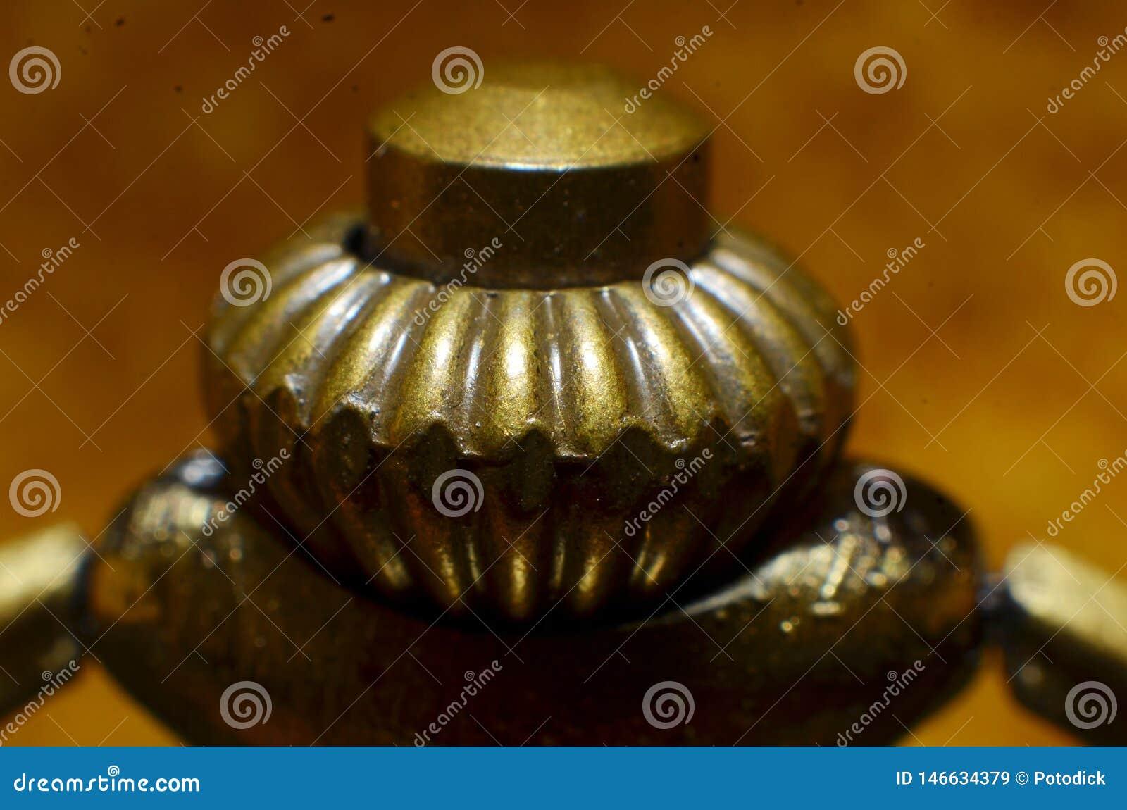 Os acessórios dos conectores de bronze do gancho são de forma redonda