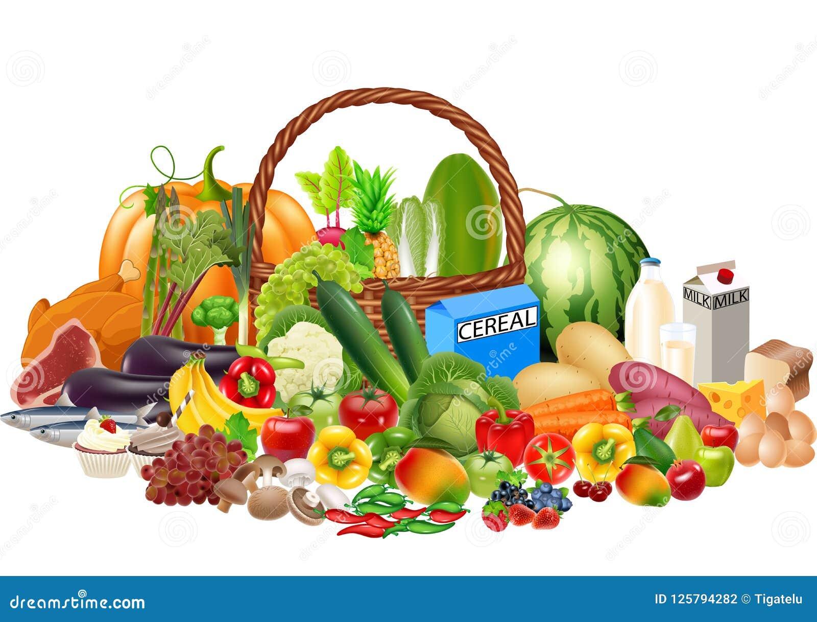 Os Alimentos Saudaveis Dos Desenhos Animados Contem Das Frutas E