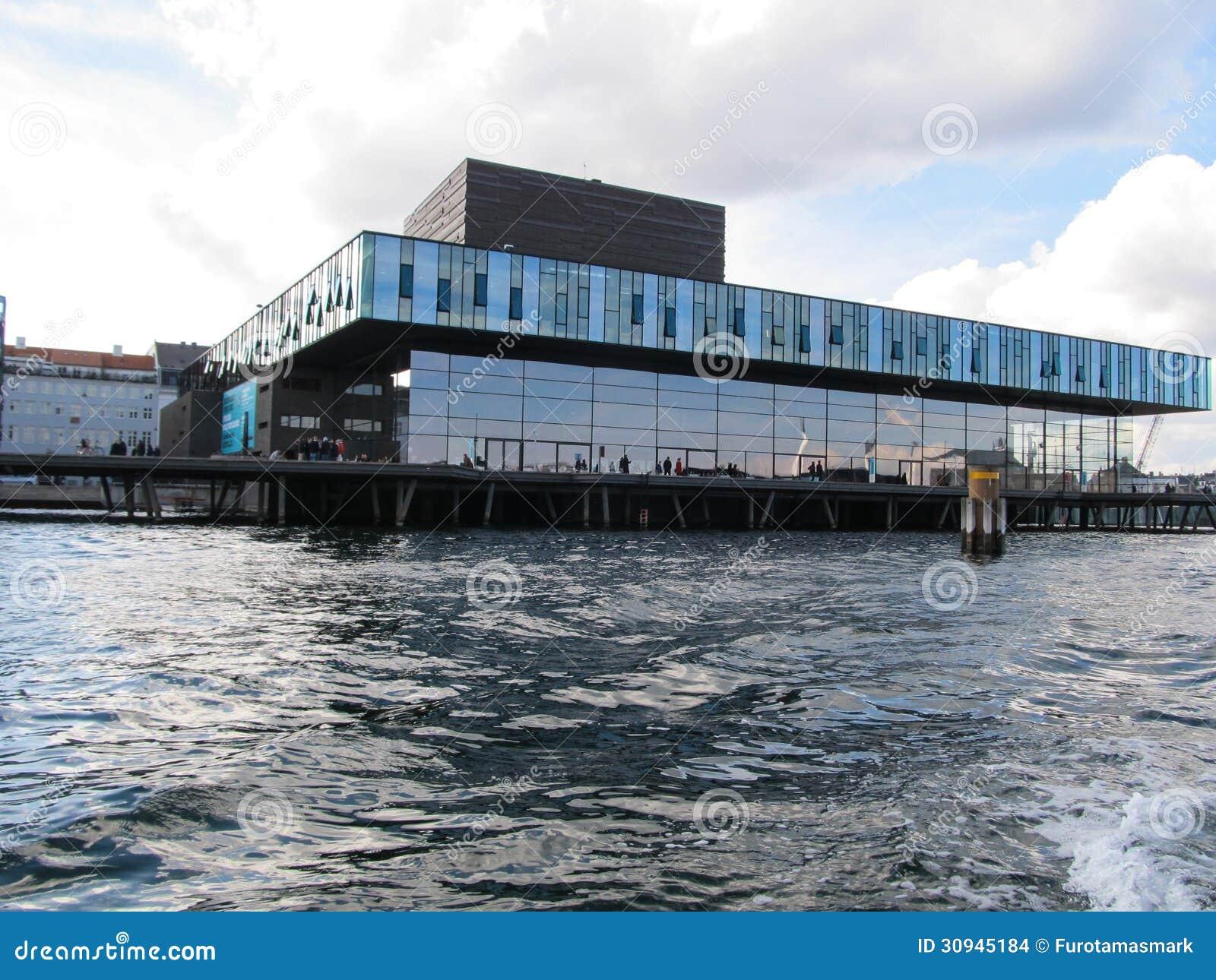 Os atores abrigam em Copenhaga