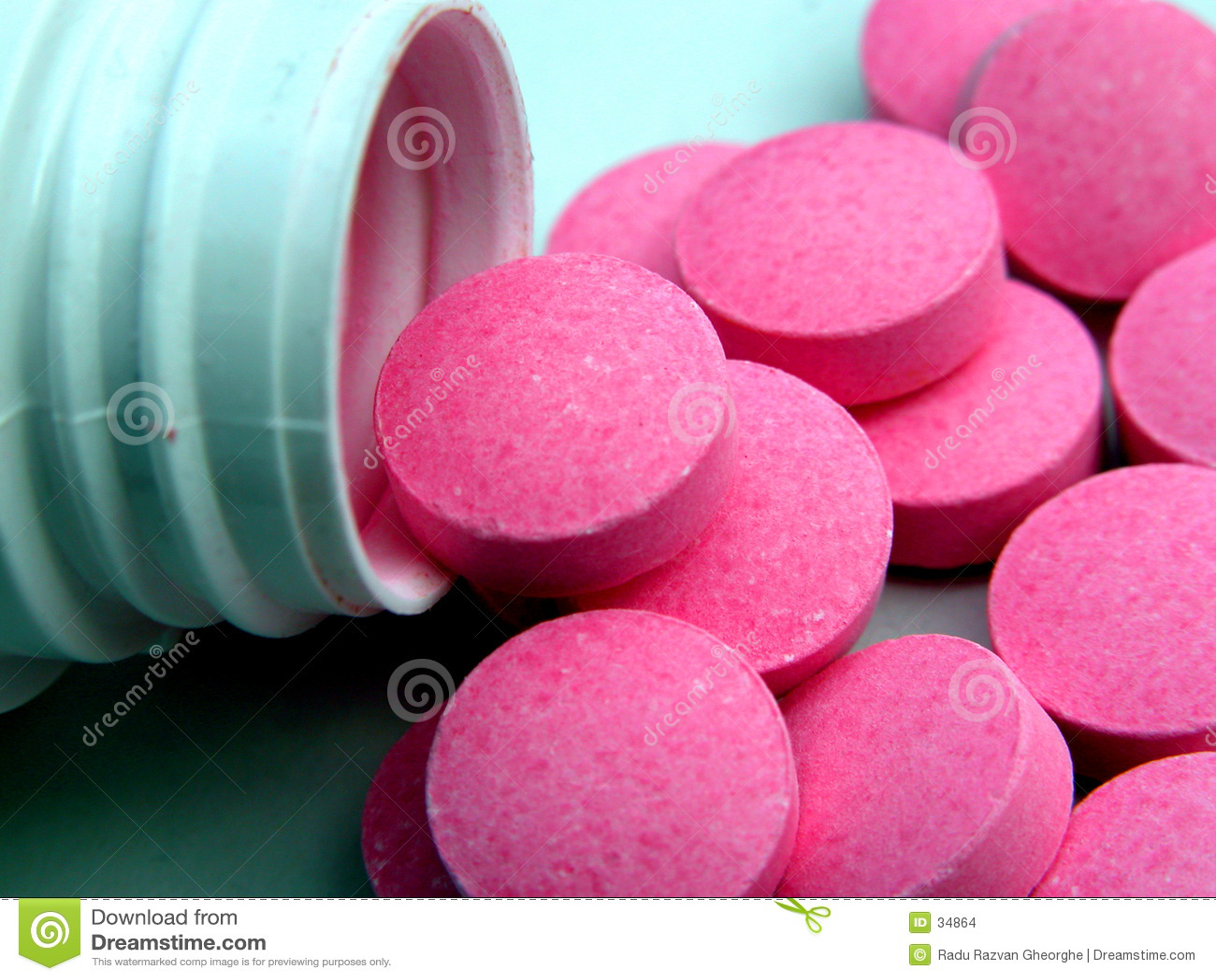 Os comprimidos fluem .....