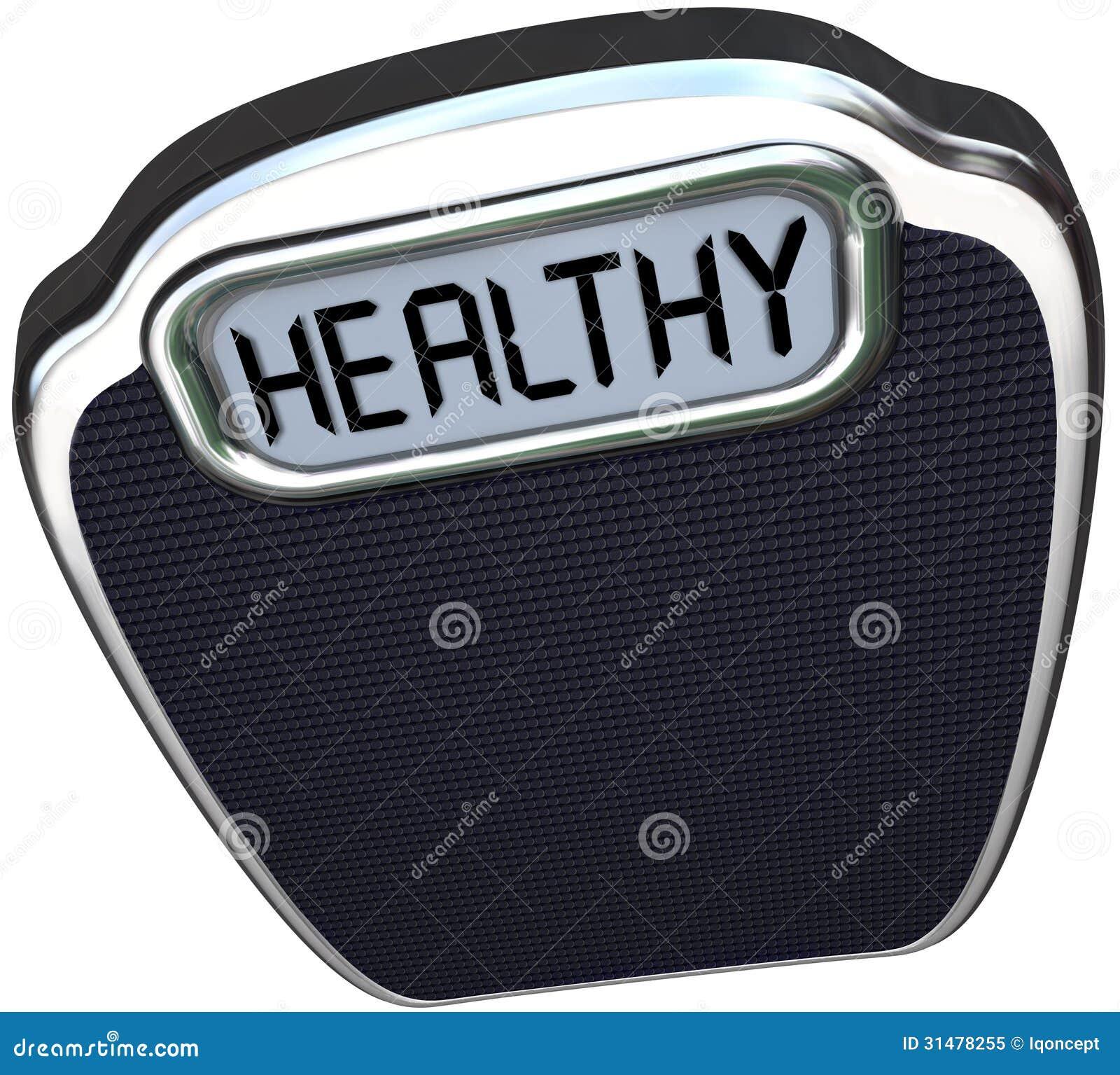 Os cuidados médicos saudáveis do bem-estar da escala da palavra perdem o peso