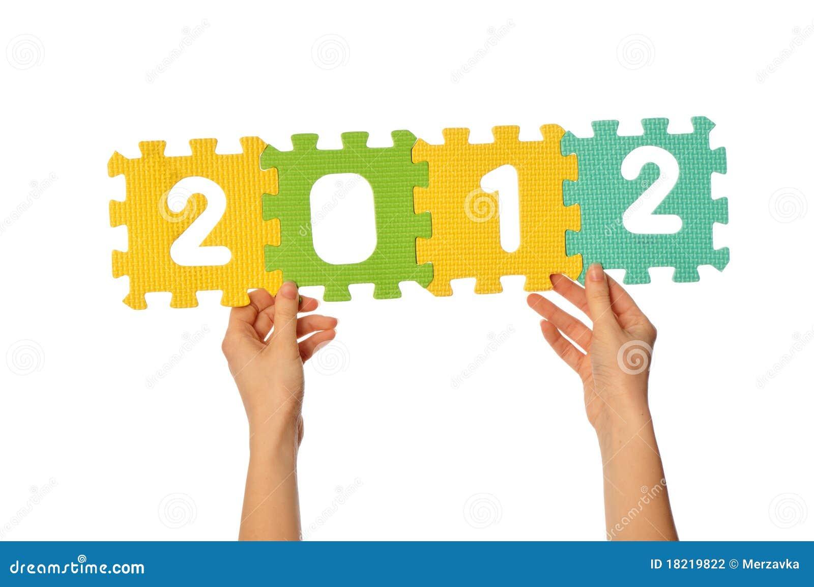 Os dígitos 2012