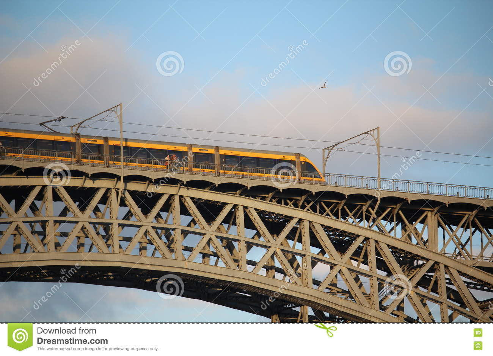 Os DOM LuÃs que eu construo uma ponte sobre, Porto, Portugal