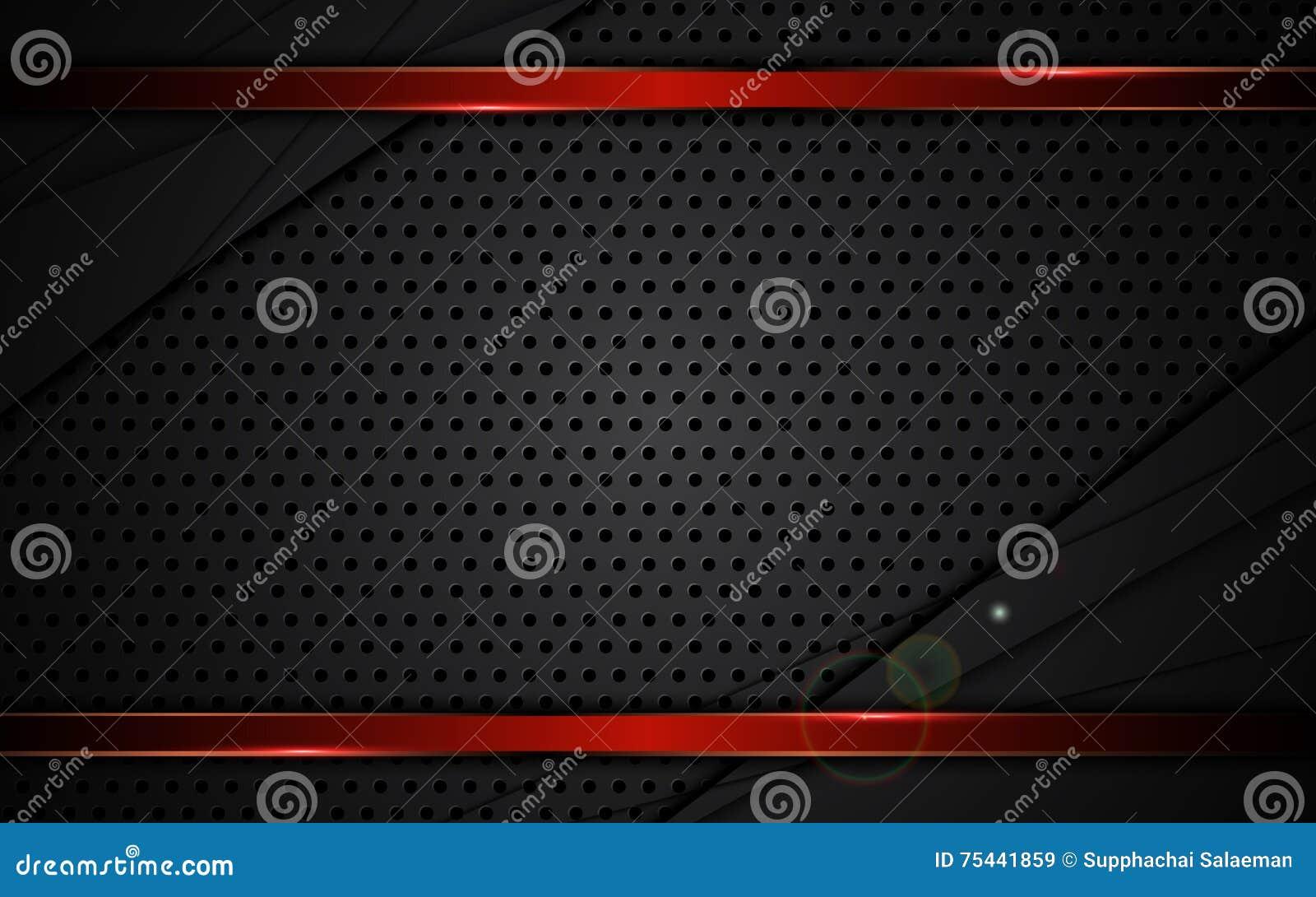 Os esportes metálicos vermelhos do fundo do quadro da textura de aço abstrata projetam