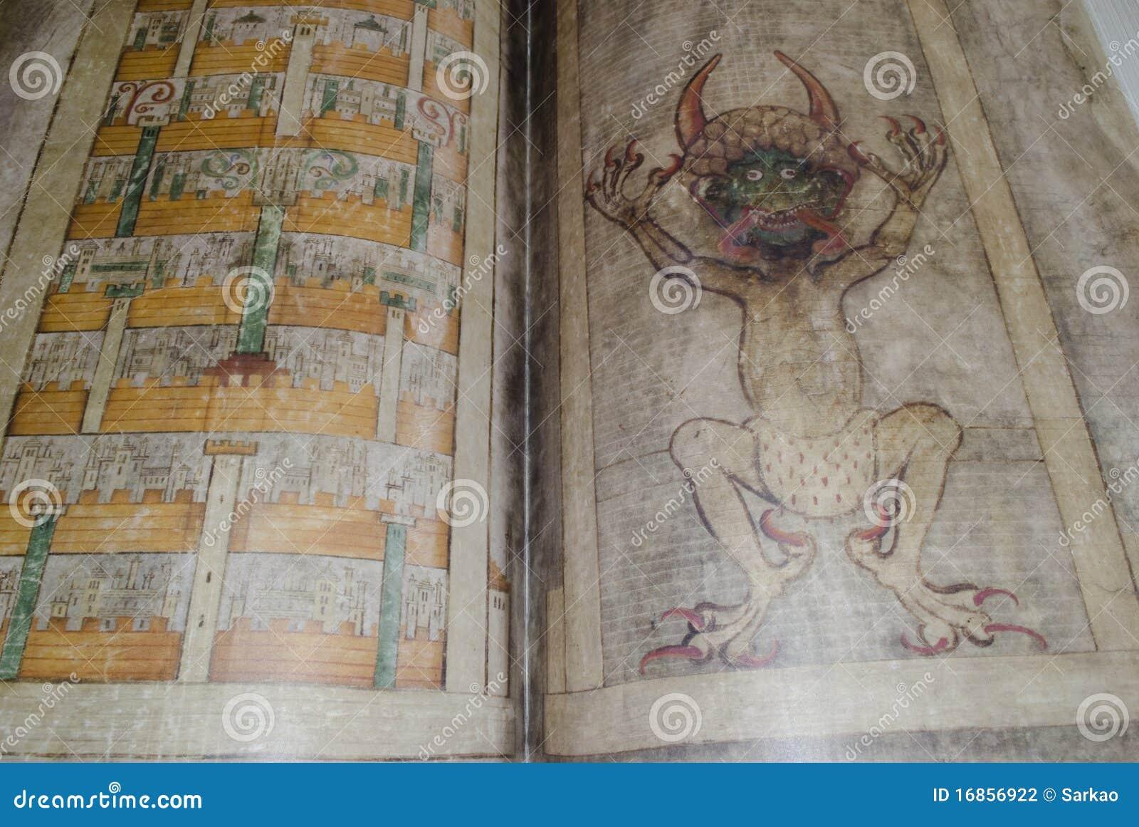 Os gigas do códice igualmente chamaram a Bíblia de Diabo