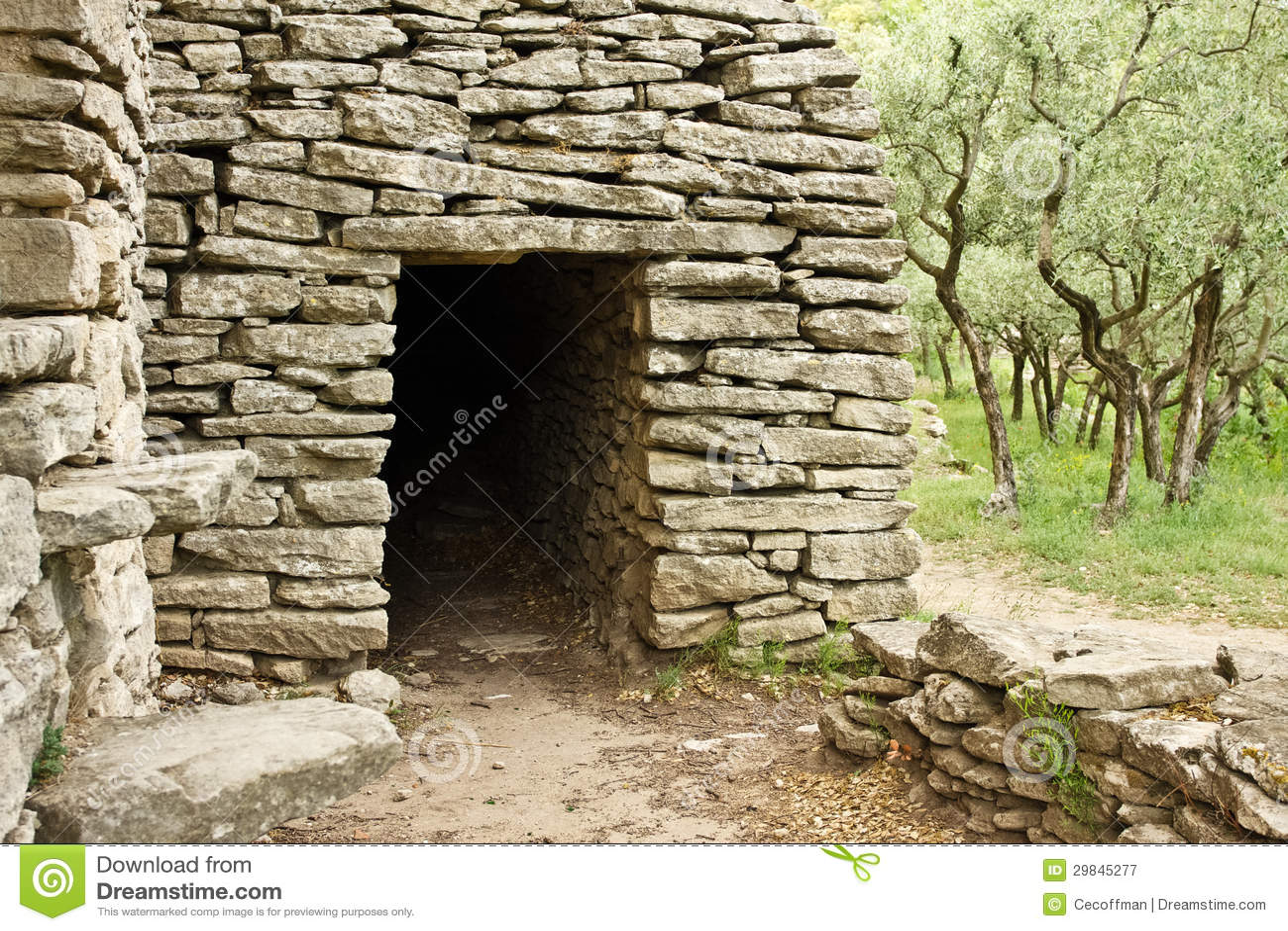 Estrutura de pedra antiga