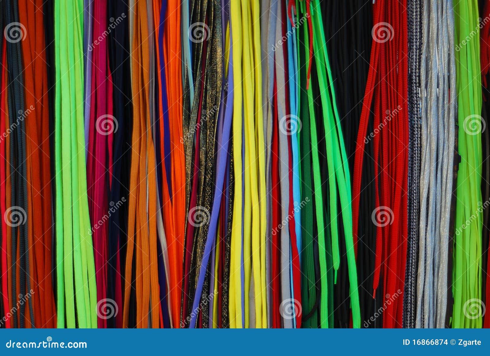 Os laços coloridos