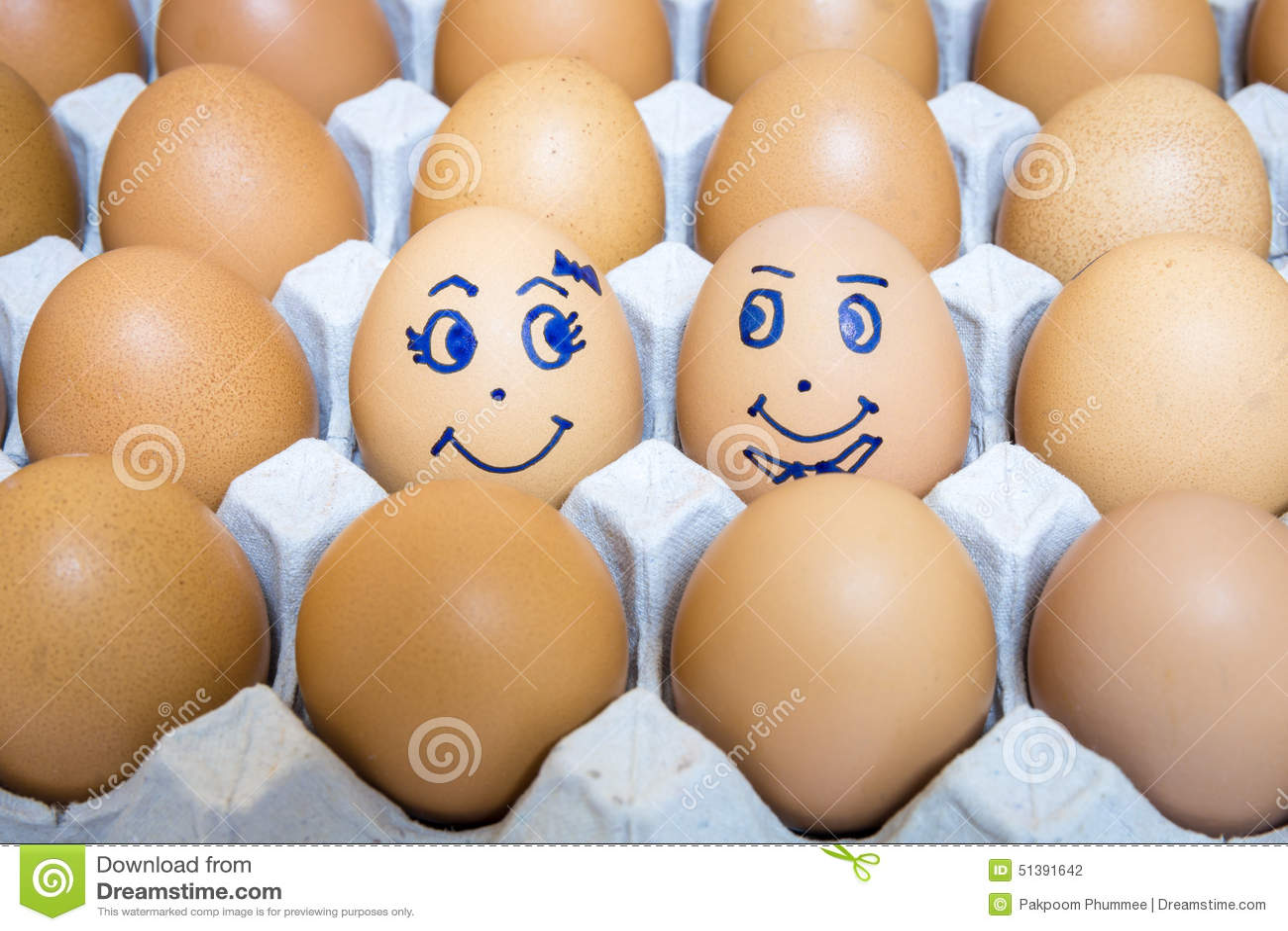 Os ovos são felicidade