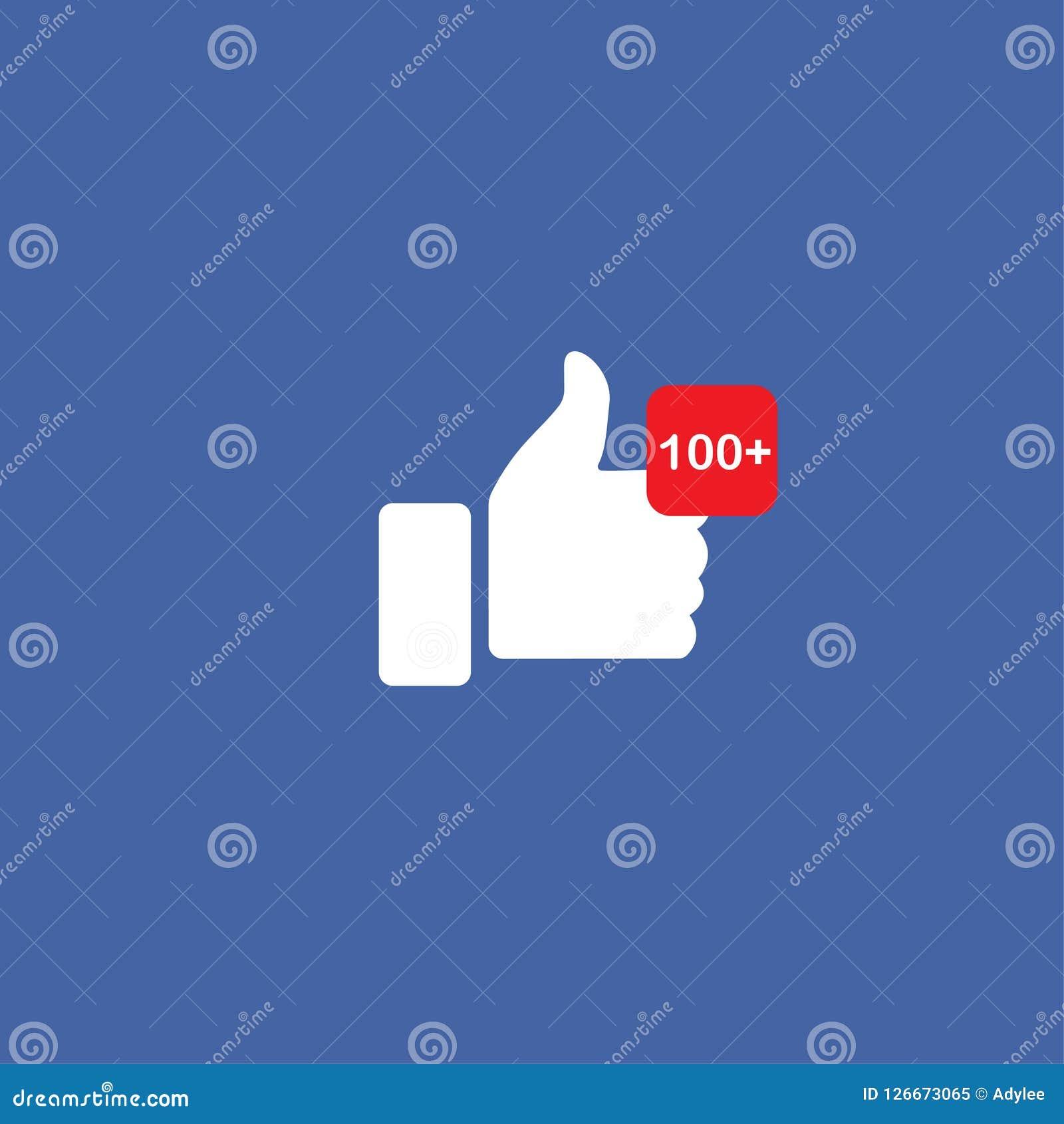 Os polegares conservados em estoque do vetor gostam acima do ícone social dos meios