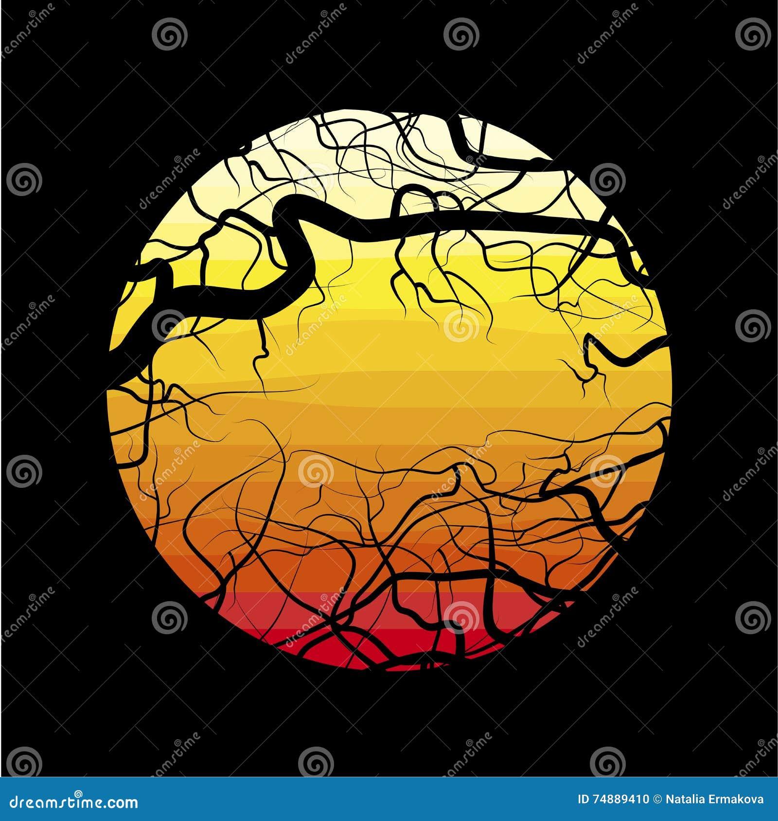 Os ramos da árvore inoperante