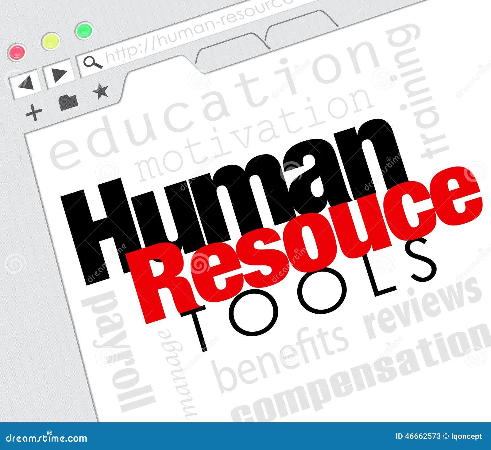 Os recursos humanos utilizam ferramentas os benefícios em linha M do treinamento do Web site do Internet
