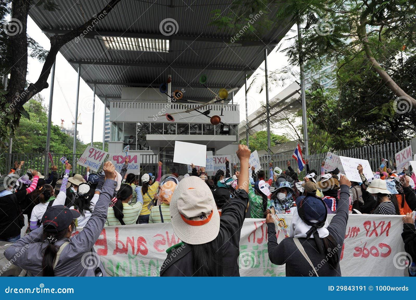 Protesto dos trabalhadores