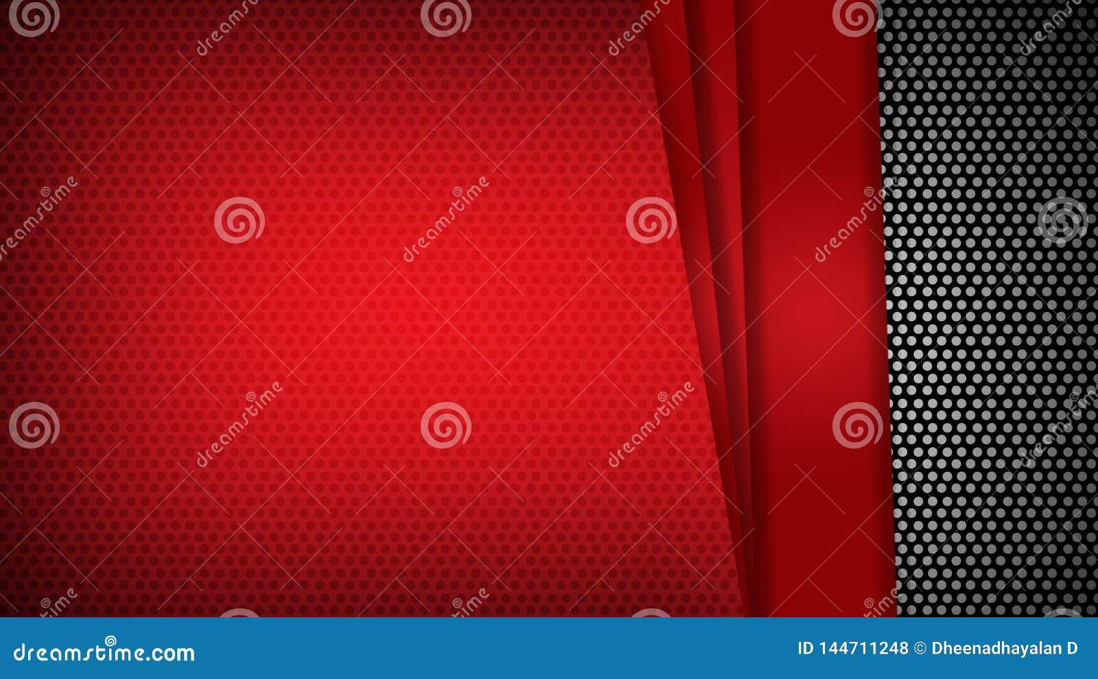 Os tri?ngulos geom?tricos vermelhos do molde do sum?rio contrastam o fundo preto Voc? pode usar-se para o projeto incorporado, fo