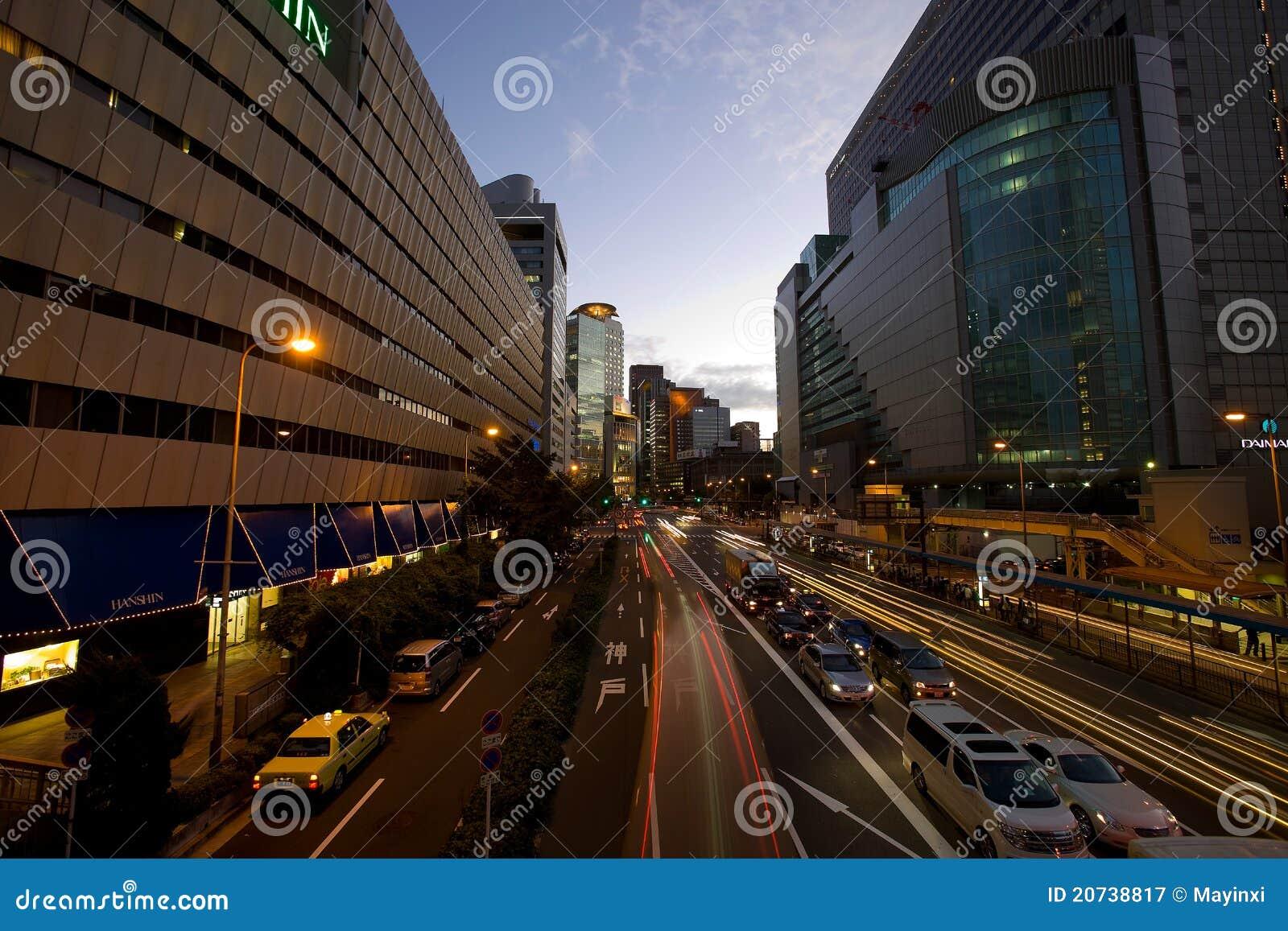 Osaka, Japan editorial photography  Image of city, japan - 20738817