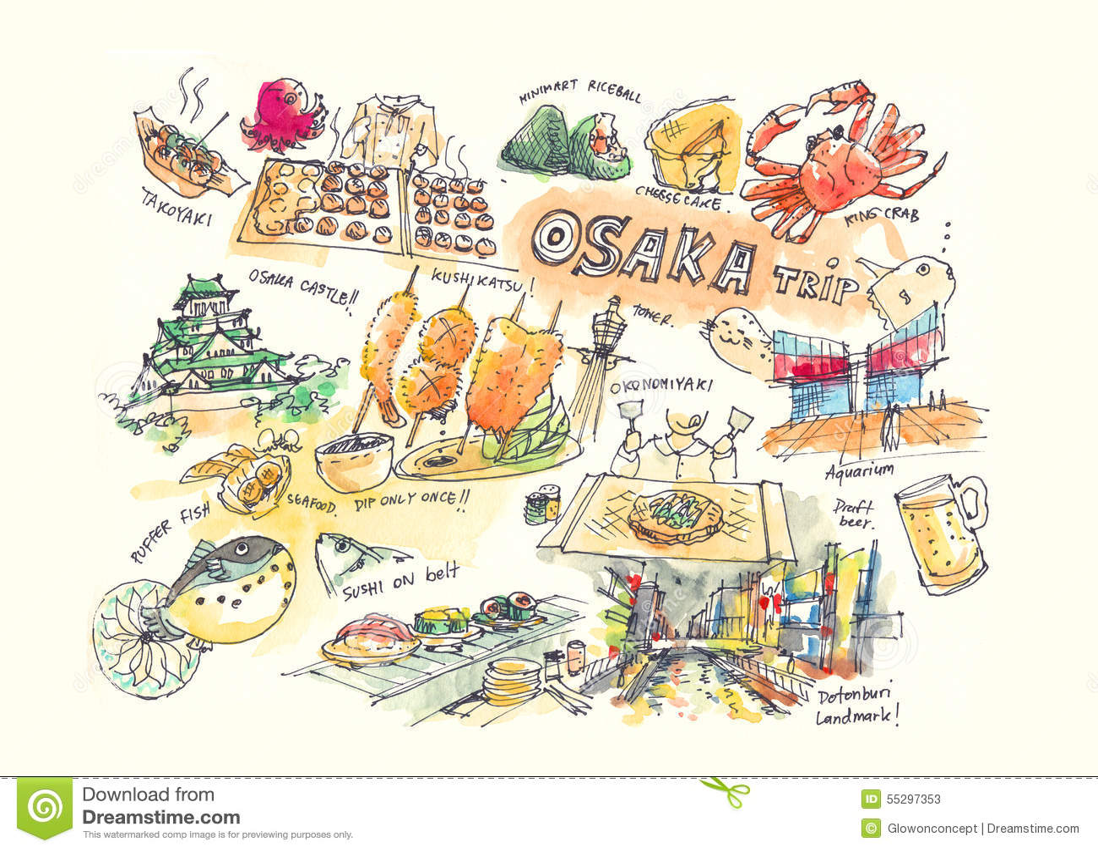 Okonomiyaki Cartoons, Illustrations & Vector Stock Images - 5 Pictures to download ...