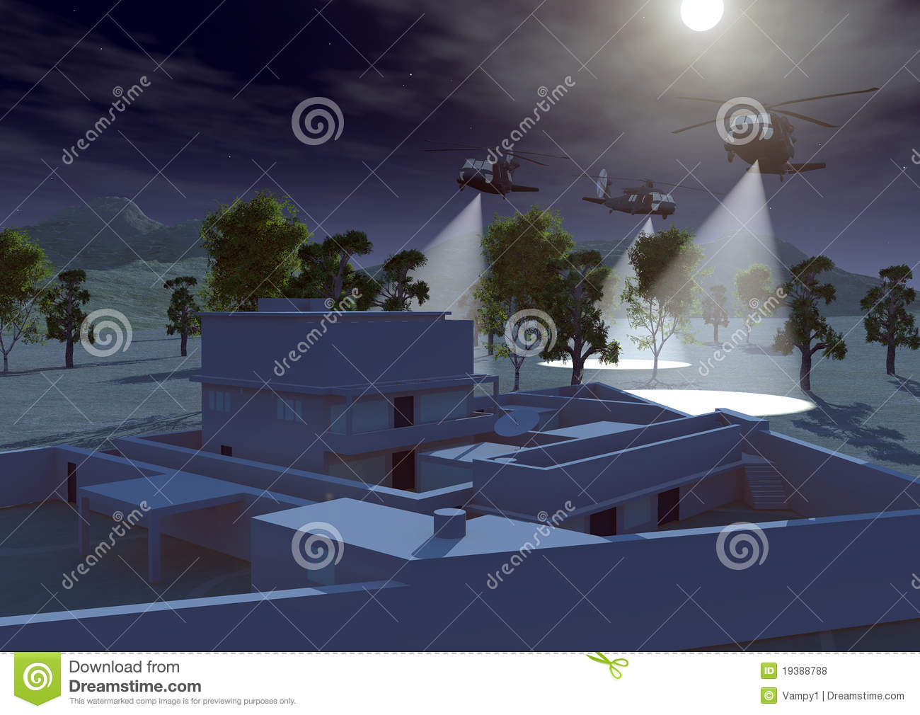 Osama Bin Laden Home Hideout In Abbottabad Editorial Stock Photo ...