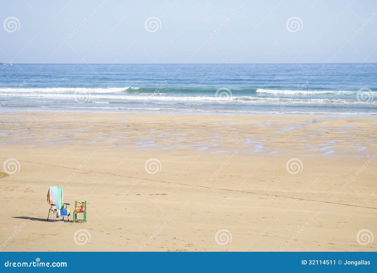 Osamotniona plaża