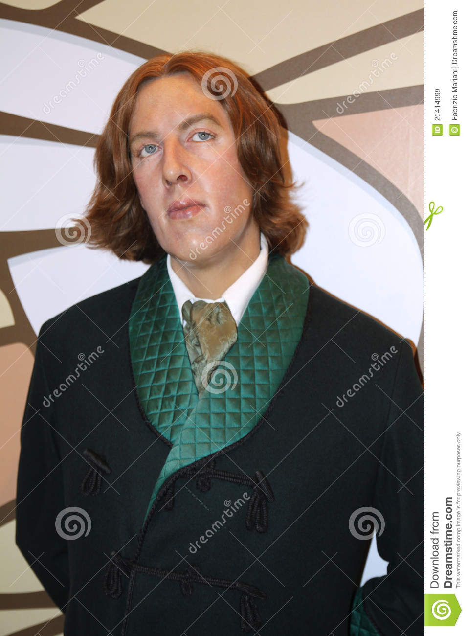 Oscar Wilde wax statues at the famous Madame Tussaud's museum in ...